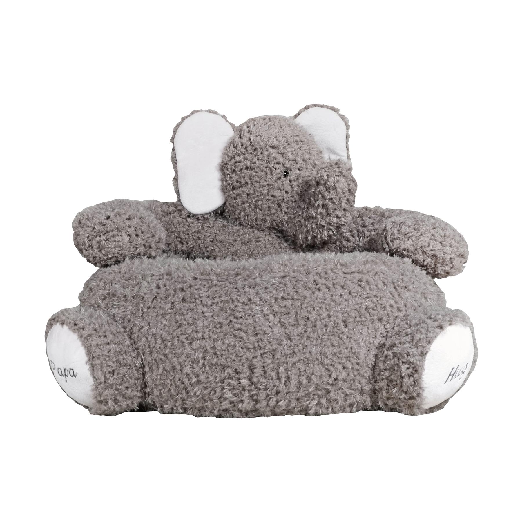 Детское мягкое кресло СлоникДетские кресла<br>Это удобное кресло качалка подойдёт как для сна, так и для игр.<br><br>Material: Хлопок<br>Width см: 65<br>Depth см: 55<br>Height см: 42