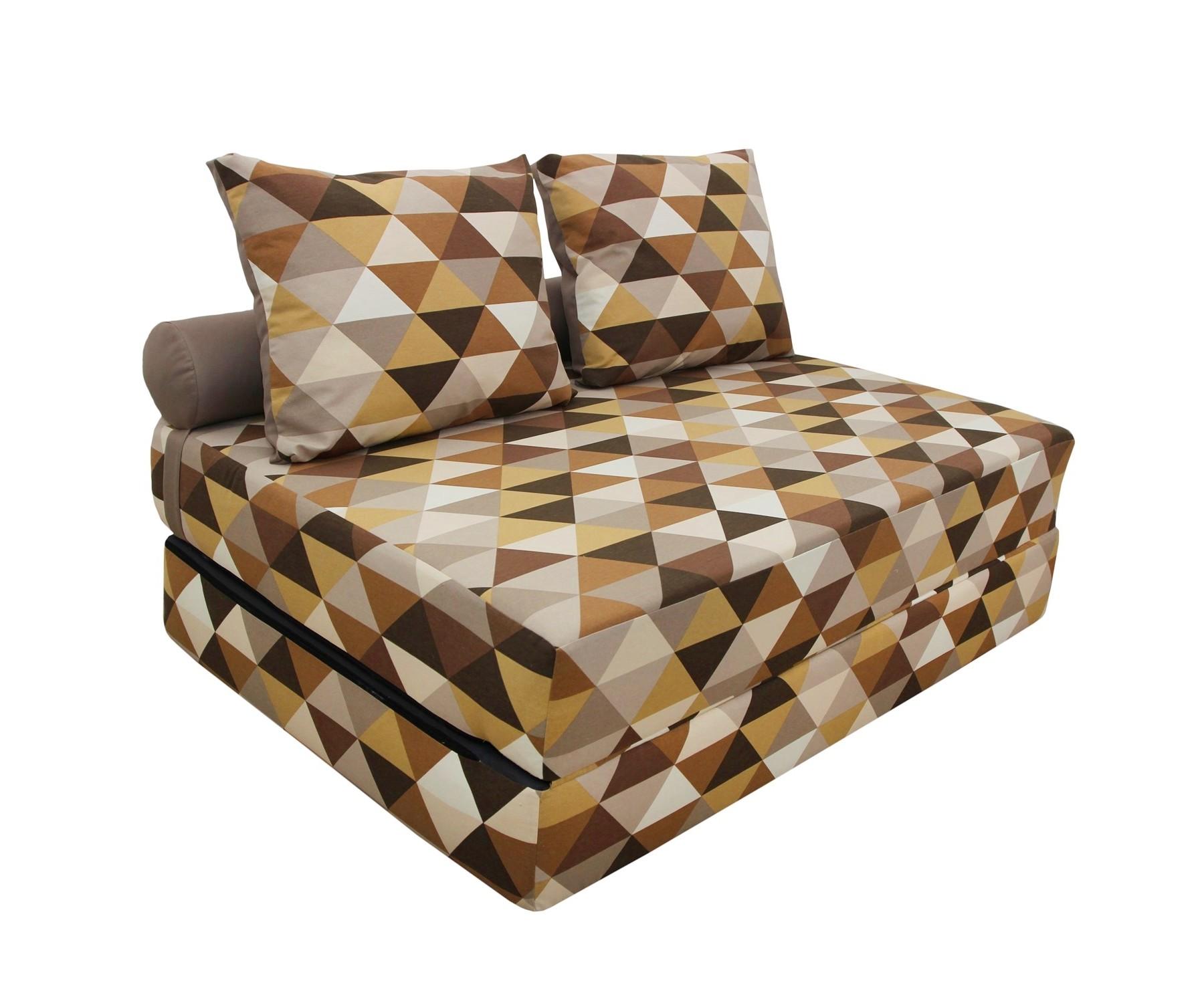 Диван-кроватьПрямые раскладные диваны<br>Уникальный дизайнерский диван-кровать  станет неотъемлемой частью вашего отдыха. Идеальное решение для интерьеров в стиле Лофт и небольших комнат! Съёмный чехол можно постирать в машине или заменить на новый! А его жесткость оптимальна для полноценного сна! Оригинальный дизайн и эксклюзивный принт создадут комфорт и уют в вашем доме.&amp;amp;nbsp;&amp;lt;div&amp;gt;&amp;lt;br&amp;gt;&amp;lt;/div&amp;gt;&amp;lt;div&amp;gt;В разобранном виде 140х20х200, валик d20х140, 2 подушки 50х70 см.&amp;lt;/div&amp;gt;<br><br>Material: Текстиль<br>Ширина см: 140<br>Высота см: 40<br>Глубина см: 100