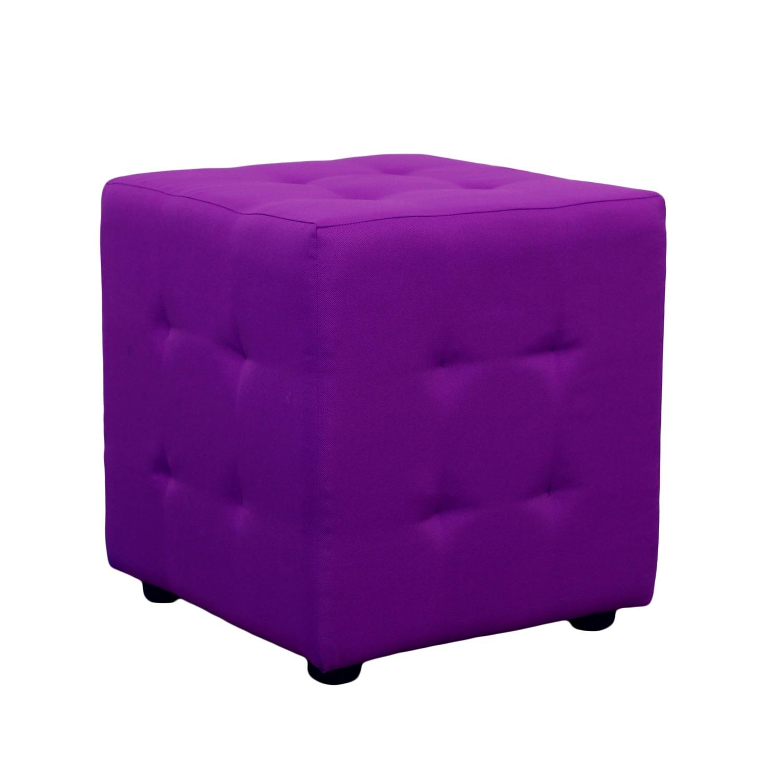 Каркасный пуфикФорменные пуфы<br>Очень устойчивый пуф на деревянной основе статнет незаменимым предметом декора или функциональной мебелью в вашем доме. А эксклюзивные ткани добавят изюминку в ваше пространство.<br><br>Material: Текстиль<br>Length см: None<br>Width см: 40<br>Depth см: 40<br>Height см: 40