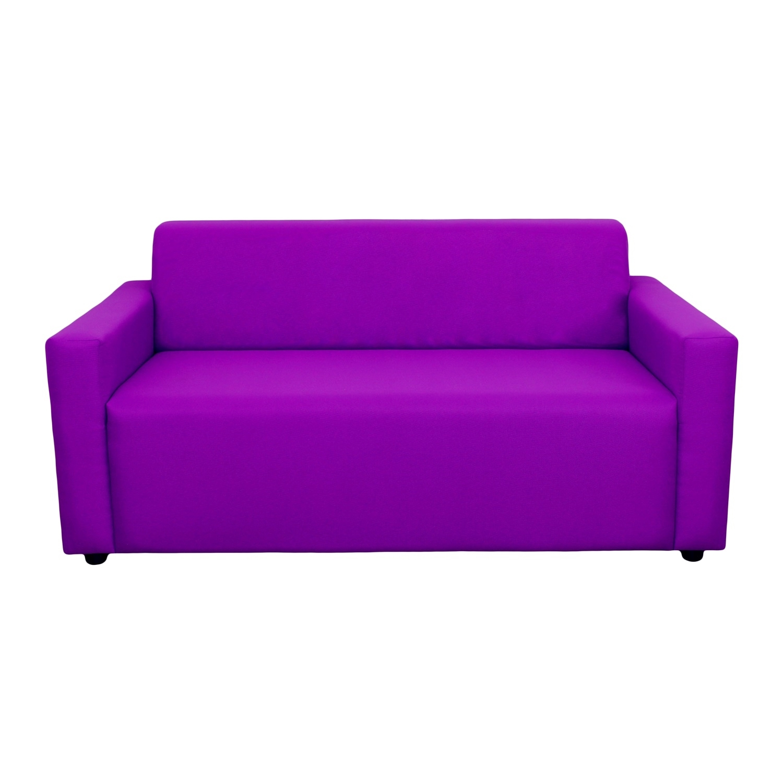 ДиванДвухместные диваны<br>Каркасный  диван оригинального дизайна станет не только выделяющимся, но и комфортным акцентом в вашем интрерьере.  Диван статнет незаменимым предметом декора или функциональной мебелью. А эксклюзивные ткани добавят изюминку в ваше пространство.<br><br>Material: Текстиль<br>Ширина см: 150<br>Высота см: 65<br>Глубина см: 80