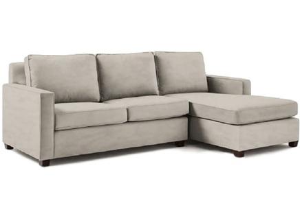 Угловой диван urban (myfurnish) серый 250x91x158 см.