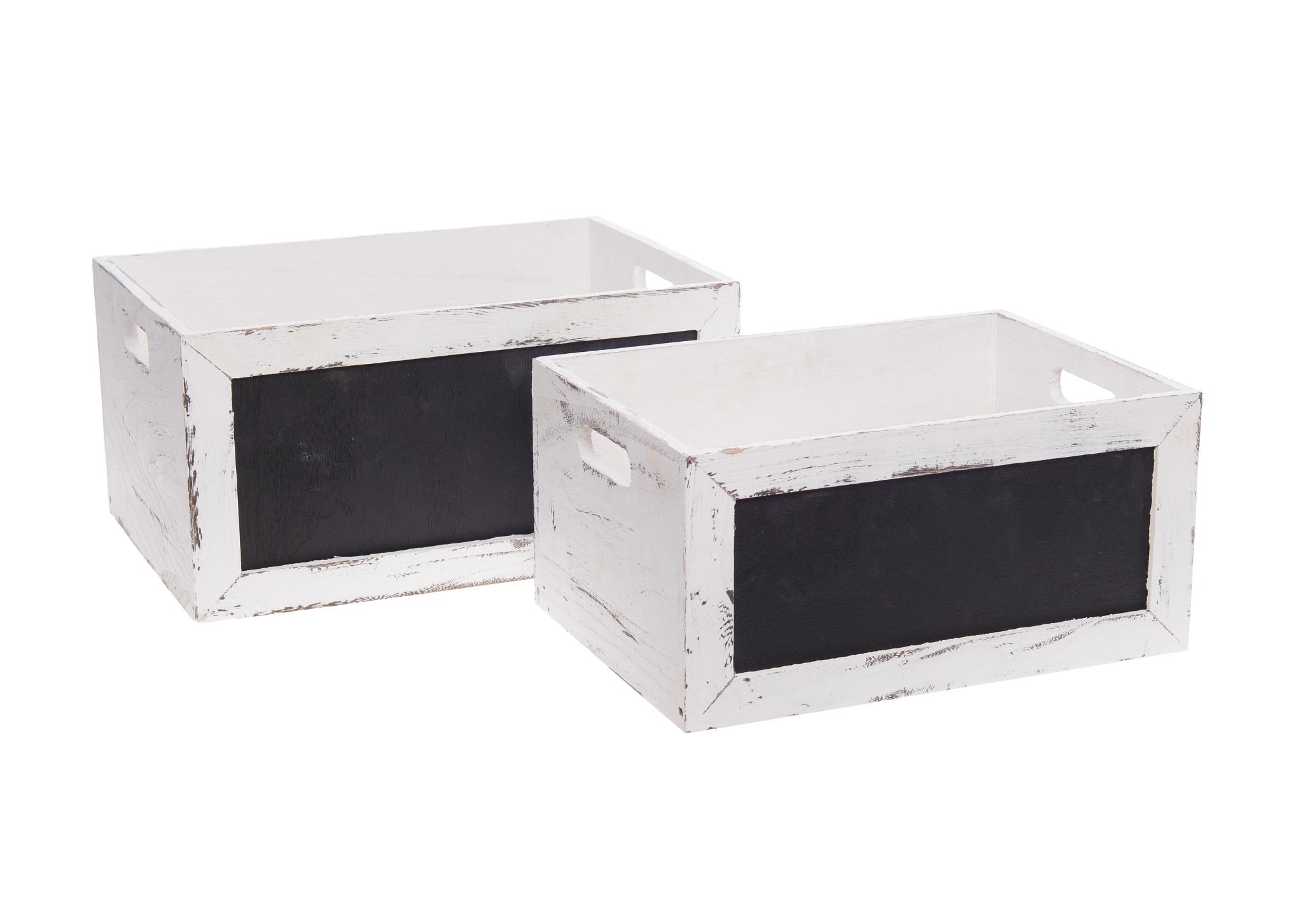 Набор коробок Peniche (2шт)Коробки<br>&amp;lt;div&amp;gt;&amp;lt;div&amp;gt;Набор из двух коробок&amp;lt;/div&amp;gt;&amp;lt;div&amp;gt;Размеры &amp;amp;nbsp;1) 3 Х26Х18; 2) 33Х23Х16&amp;lt;/div&amp;gt;&amp;lt;/div&amp;gt;&amp;lt;div&amp;gt;Цвет:&amp;amp;nbsp;белый, черный&amp;lt;/div&amp;gt;<br><br>Material: Дерево<br>Ширина см: 36.0<br>Высота см: 18.0<br>Глубина см: 26.0