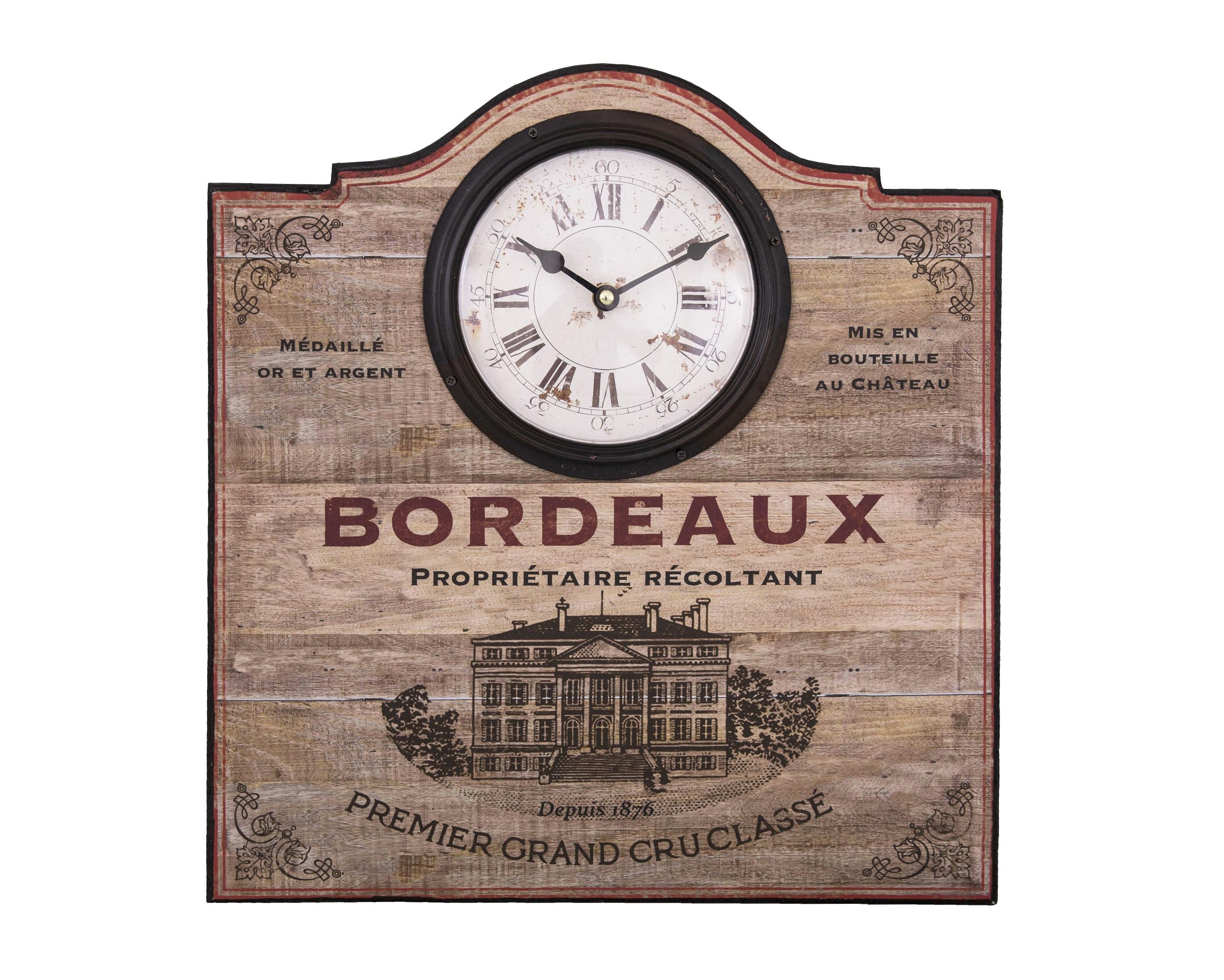 Настенные часы BordeauxНастенные часы<br>&amp;lt;div&amp;gt;Механизм: кварцевый&amp;lt;/div&amp;gt;&amp;lt;div&amp;gt;Материал: железо, МДФ, стекло&amp;lt;/div&amp;gt;<br><br>Material: Металл<br>Length см: None<br>Width см: 43.45<br>Depth см: 2<br>Height см: None