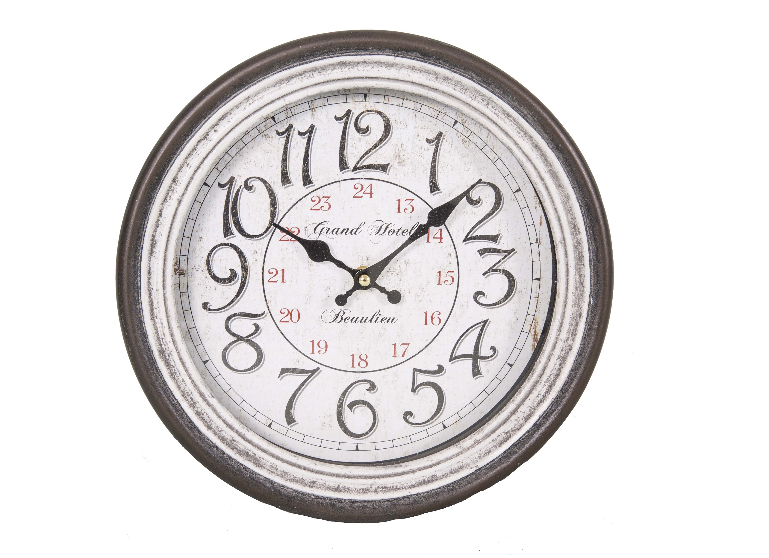Настенные часы BeaulieuНастенные часы<br>&amp;lt;div&amp;gt;Механизм: кварцевый&amp;lt;/div&amp;gt;&amp;lt;div&amp;gt;Материал: МДФ, бумага, стекло&amp;lt;/div&amp;gt;<br><br>Material: Бумага<br>Length см: 32<br>Width см: 32<br>Height см: 67.65