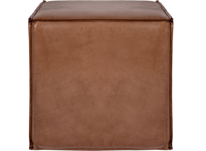 Пуф Ottoman Square small CordaКожаные пуфы<br>Изысканный пуф благородного цвета придаст интерьеру утонченности. Выполненный из мягкой кожи, он подкупает своей простотой, но в то же время - строгостью формы и цветового исполнения. Пуф Ottoman легко впишется в любой интерьер, не нарушая гармонии, а лишь дополняя ее.<br><br>Material: Кожа<br>Width см: 40<br>Depth см: 40<br>Height см: 40