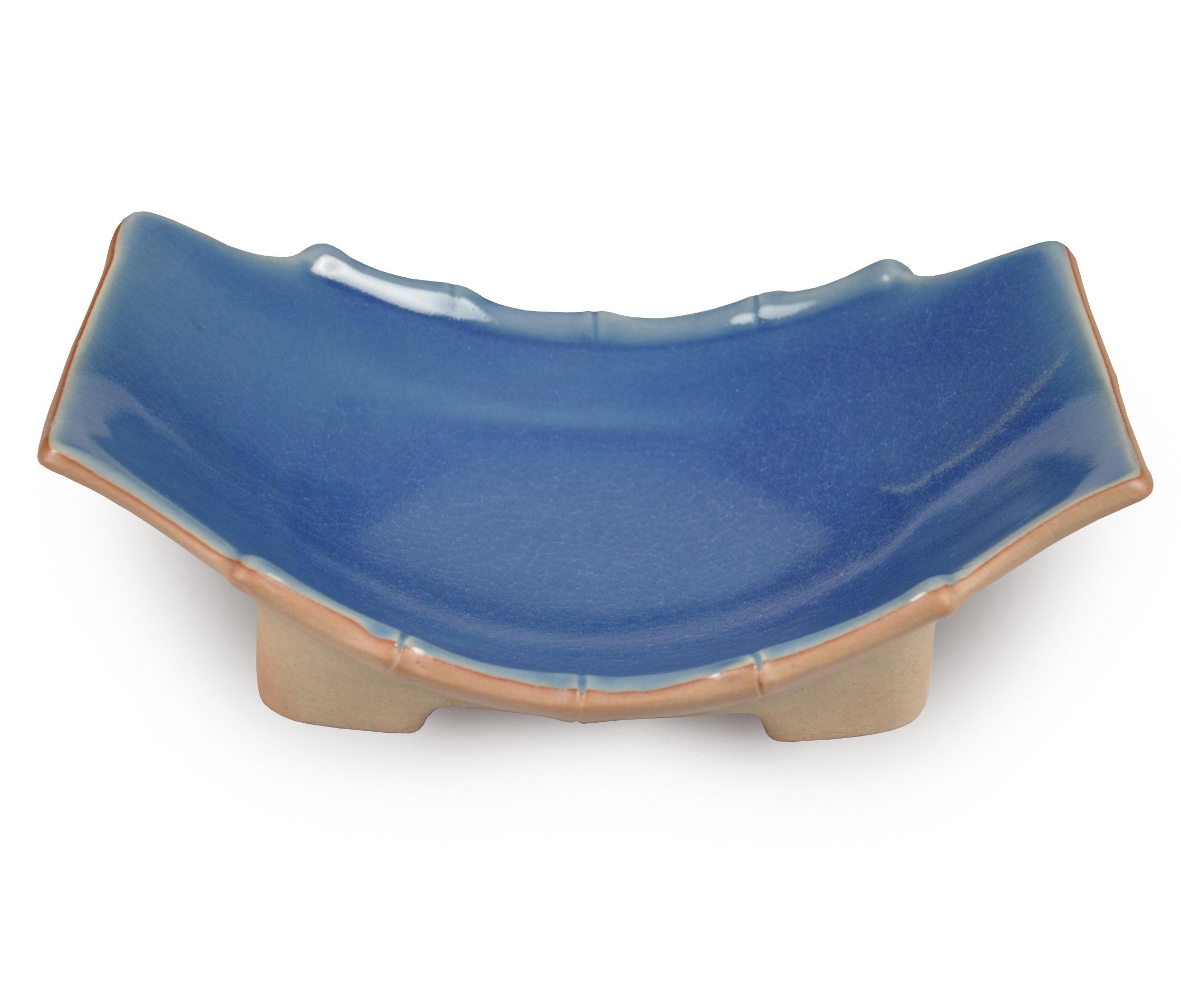 Блюдо на ножках Bamboo LineДекоративные блюда<br><br><br>Material: Керамика<br>Length см: 23<br>Width см: 17<br>Height см: 6.5