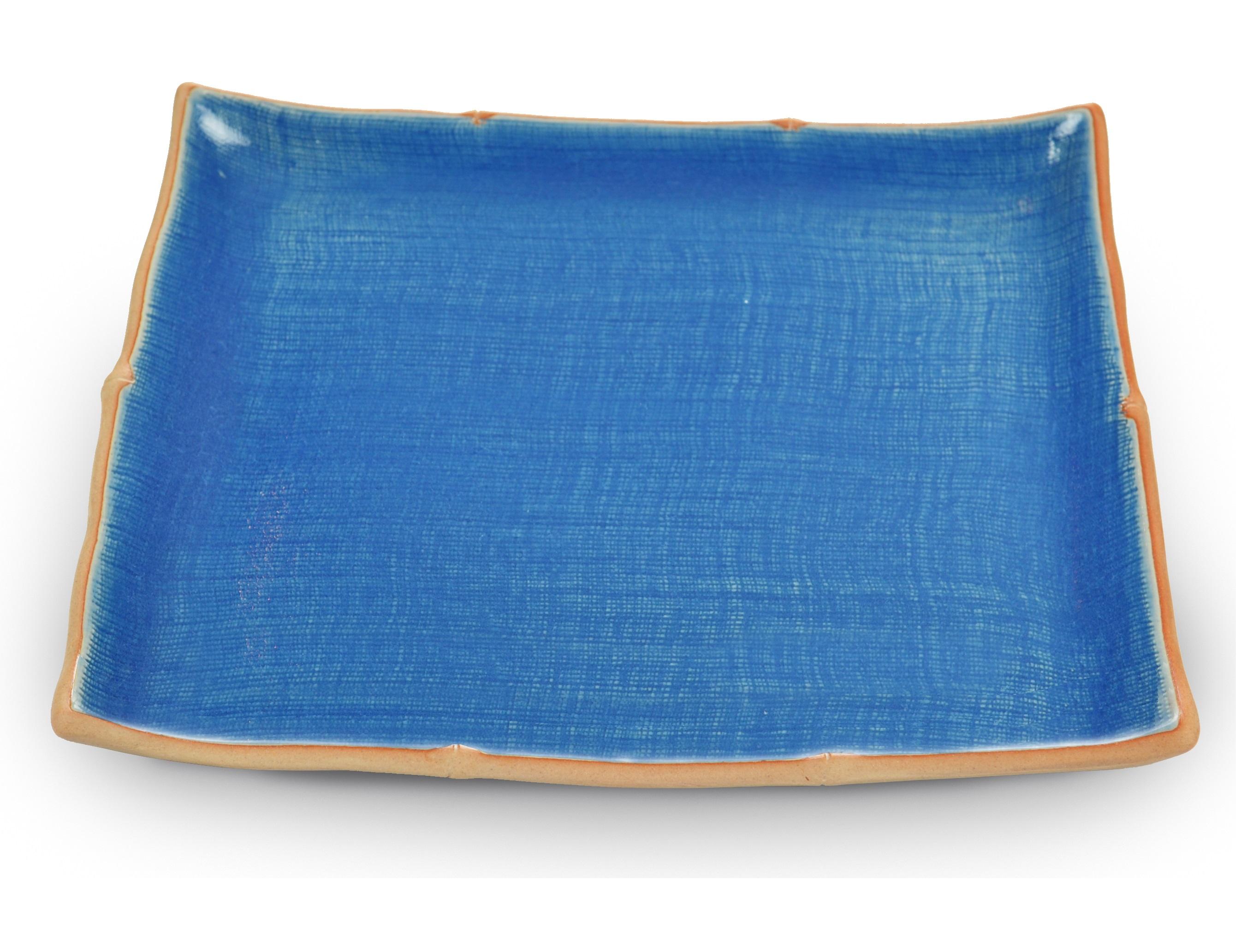 Блюдо Bamboo LineДекоративные блюда<br><br><br>Material: Керамика<br>Length см: 27<br>Width см: 22.5<br>Height см: 3