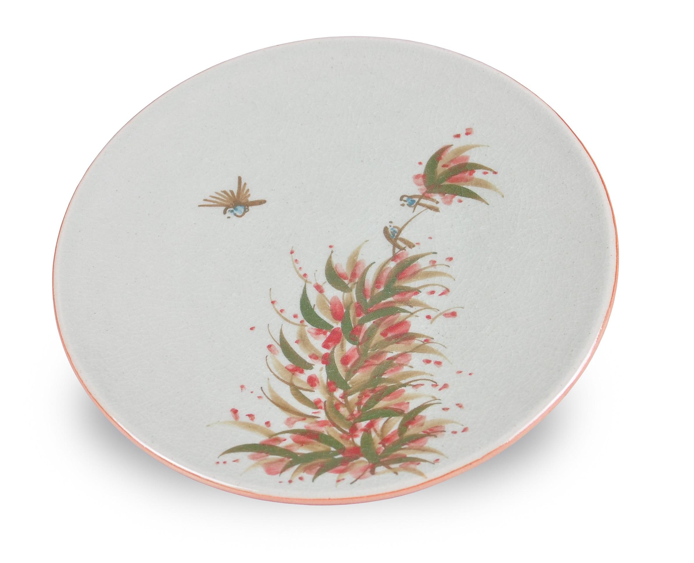 Тарелка JaponicaДекоративные тарелки<br>Посуда из коллекции &amp;quot;Japonica&amp;quot; придаст сервировке вашего стола по настоящему азиатский колорит.<br><br>Material: Керамика<br>Высота см: 3