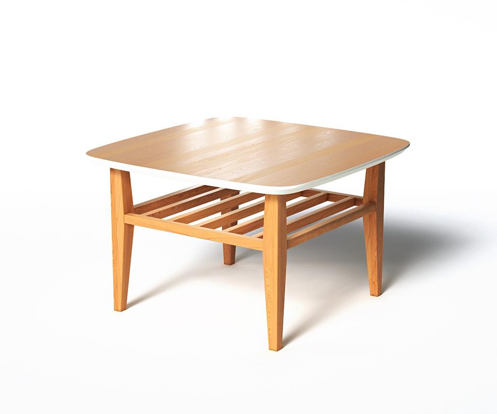 Журнальный стол WILSONЖурнальные столики<br>&amp;lt;p class=&amp;quot;MsoNormal&amp;quot;&amp;gt;Журнальный столик WILSON соединяет в себе все лучшее, что<br>есть в скандинавском стиле. Натуральное дерево в сочетании с белой отделкой столешницы подчеркнет тягу к природе в<br>оформлении пространства. Реечная нижняя полочка, скругленные уголки и<br>зауженные ножки создают баланс формы. Подойдет для интерьеров, выполненных в стиле<br>деревенского домика.&amp;lt;/p&amp;gt;<br><br>Material: Дерево<br>Length см: 70<br>Width см: 70<br>Depth см: None<br>Height см: 45<br>Diameter см: None