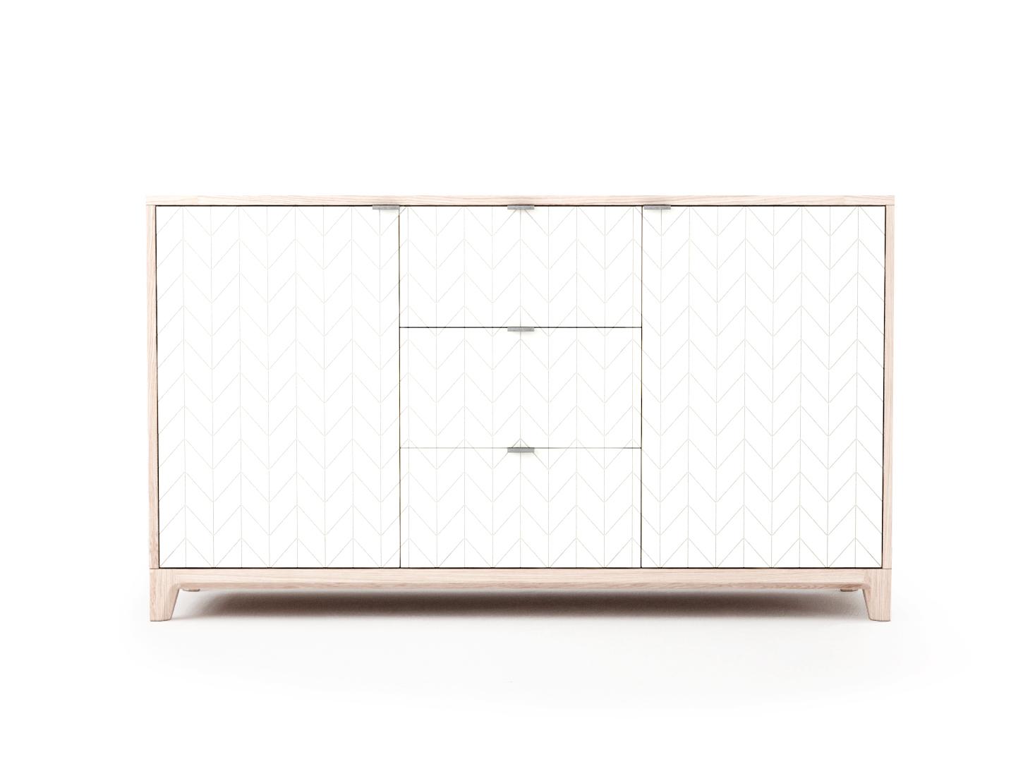 Комод CASEИнтерьерные комоды<br>Элегантность и практичность, приятные цветовые решения и современный дизайн гармонично сочетаются в комоде CASE.<br><br>Базовая ширина комода – 140 см, поэтому на нем можно разместить целый ряд предметов. <br>Комод очень вместителен и может использоваться в любом помещении - гостиной, спальне или даже в офисе.<br><br>Основание выполнено из массива дуба, а корпус – из мдф, что гарантирует прочность и экологичность изделия. Благодаря качественной фурнитуре, вместительные ящики двигаются плавно и бесшумно.  А главная изюминка коллекции - это фасады с объемной фрезеровкой, цвет и дизайн которых вы можете выбрать сами. <br>Комод CASE доступен в 5 вариантах отделки и 15 цветах эмали.<br><br>Material: МДФ<br>Length см: None<br>Width см: 140<br>Depth см: 40<br>Height см: 80<br>Diameter см: None