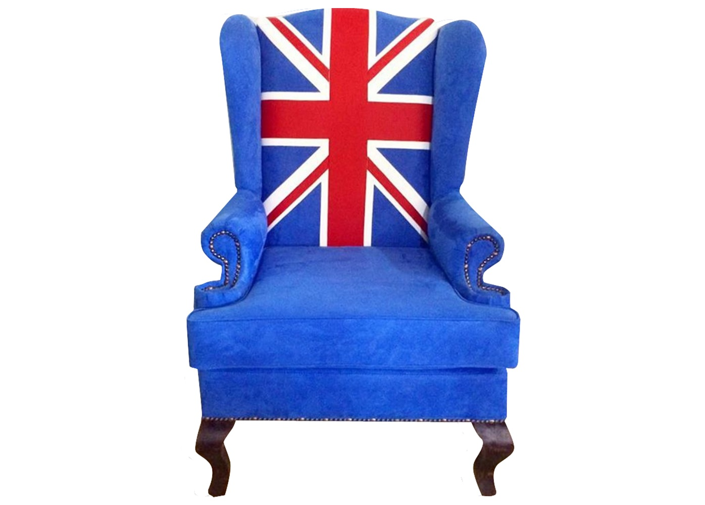 "Каминное кресло ""Union Jack classic"""
