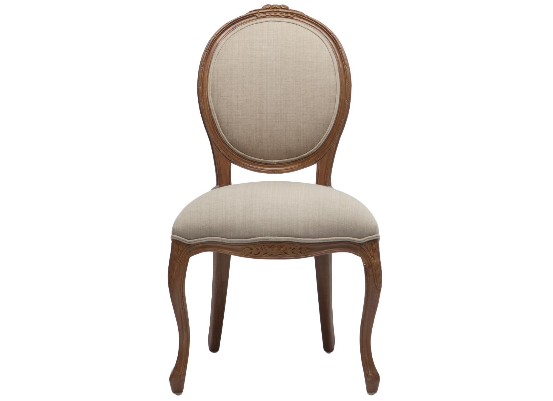Стул СелинОбеденные стулья<br>Стул с круглой спинкой-медальон из дерева минди, декорирован резьбой.&amp;amp;nbsp;<br><br>Material: Хлопок<br>Ширина см: 62<br>Высота см: 96<br>Глубина см: 53
