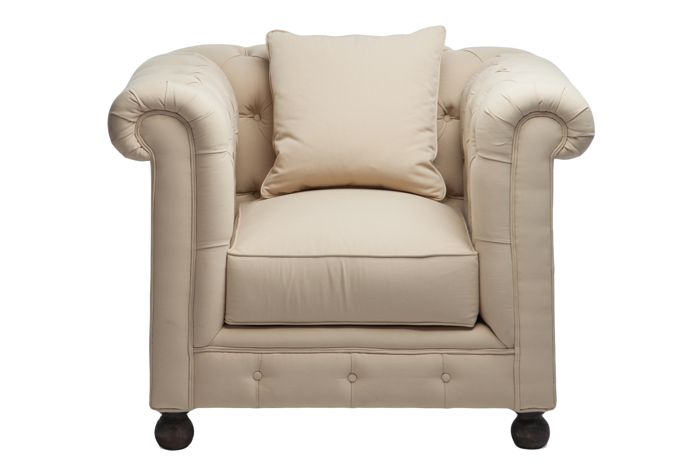 Кресло «Честерфилд»Интерьерные кресла<br>Классическая модель, декорированная стёжкой капитоне на круглых ножках.<br><br>Material: Текстиль<br>Width см: 110<br>Depth см: 93<br>Height см: 89