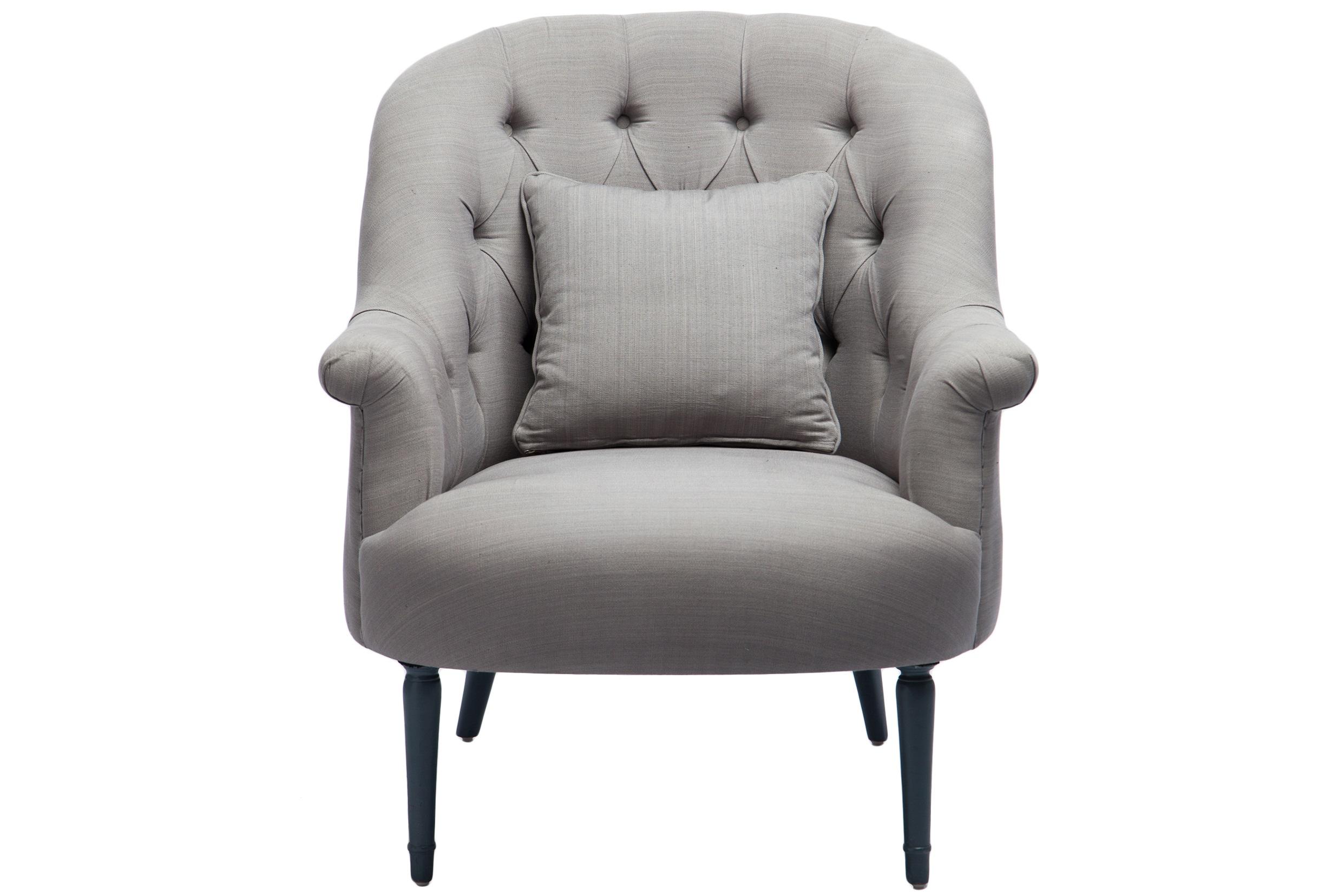 Кресло ОрландоИнтерьерные кресла<br>Большое уютное кресло с обивкой из 100% хлопка, украшено в технике капитоне. Подушка в комплекте.<br><br>Material: Красное дерево<br>Width см: 94<br>Depth см: 87<br>Height см: 101