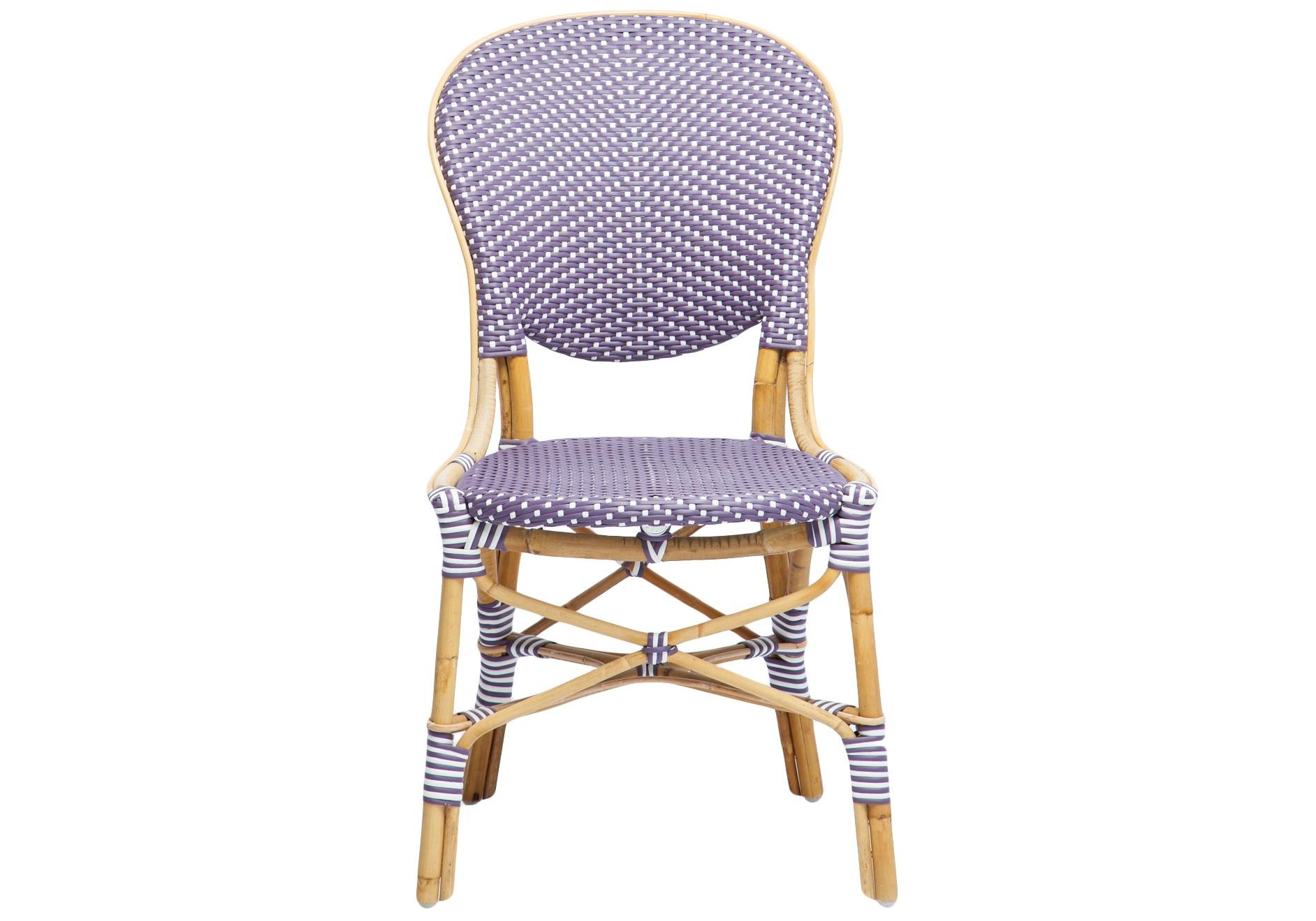 СтулСтулья для сада<br>Стул из ротанга, сиденье и спинка из прочного синтетического волокна. В коллекции также представлены стол из ротанга и плетеные полукресла.<br><br>Material: Ротанг<br>Width см: 59<br>Depth см: 48<br>Height см: 92
