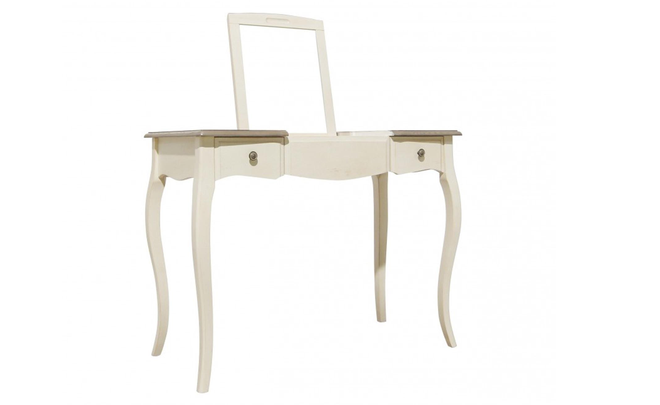 Стол туалетный с зеркаломТуалетные столики<br><br><br>Material: Бук<br>Width см: 100<br>Depth см: 49<br>Height см: 77