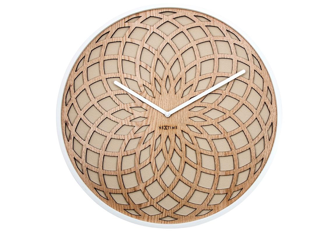 Настенные часы SUNНастенные часы<br>кварцевый механизм<br><br>Material: Дерево<br>Diameter см: 50