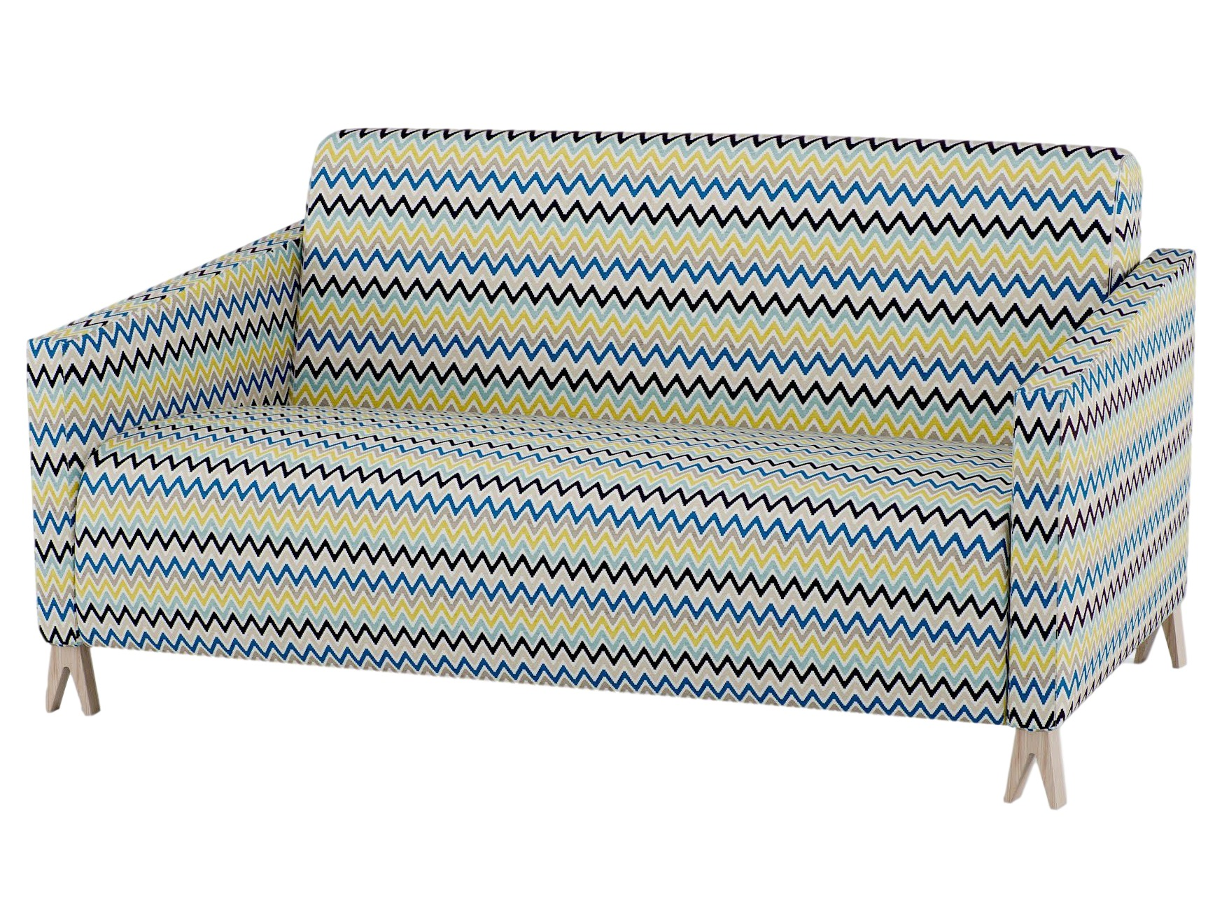 Диван двухместный SOVAДвухместные диваны<br>Двухместный диван Sova – выпущен первым из целой коллекции домашних и общественных кресел и диванов. Мягкий диван покрыт высококачественной обивочной тканью, разработанной английской компанией Kirkby Design. Для разнообразия вы можете сочетать в одном диване несколько цветов обивки. Материал: Каркас – фанера, ткань - 100% полиэстер.<br><br>Material: Текстиль<br>Width см: 91<br>Depth см: 91<br>Height см: 156