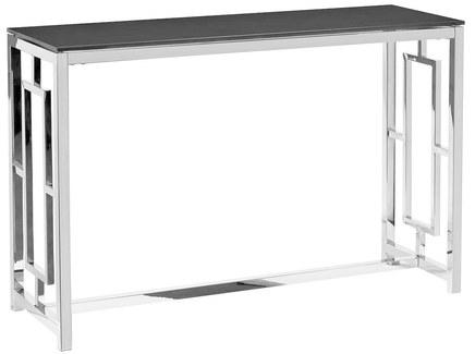Консоль (garda decor) серебристый 120x78x40 см.