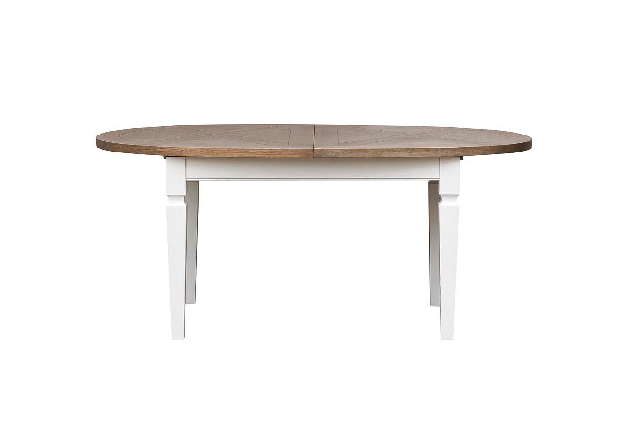 Стол обеденныйОбеденные столы<br>Материал:&amp;amp;nbsp;столешница МДФ и дубовый шпон, ножки - массив тополя, ящики МДФ<br><br>Material: Шпон<br>Width см: 180<br>Depth см: 100<br>Height см: 78