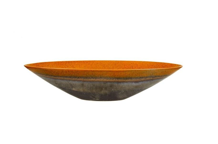 Декоративная чашаМиски и чаши<br><br><br>Material: Керамика<br>Ширина см: 57<br>Высота см: 18<br>Глубина см: 13