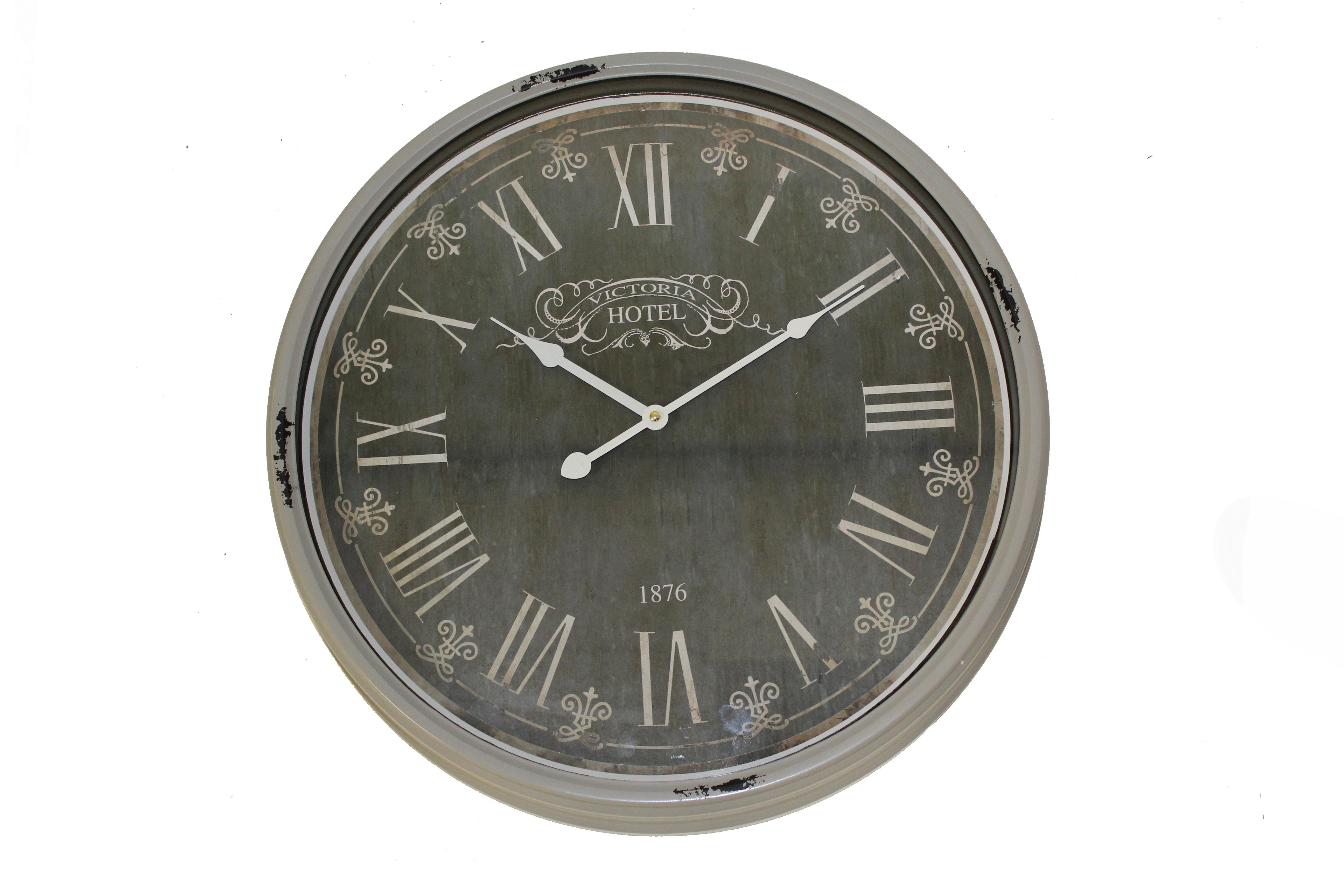 Настенные часы Victoria HotelНастенные часы<br>Батарейки типа AА.<br><br>Material: Железо<br>Length см: None<br>Width см: None<br>Depth см: 8<br>Height см: None<br>Diameter см: 50