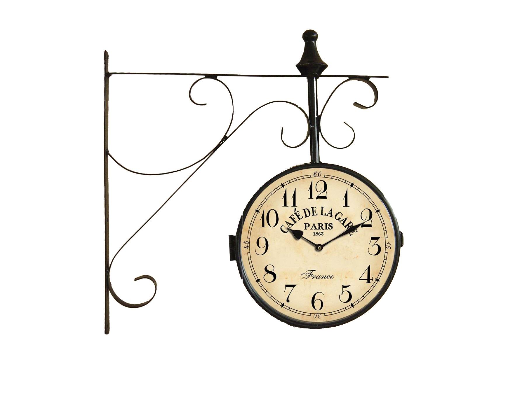 Настенные часыНастенные часы<br>Батарейки типа AА.<br><br>Material: Железо<br>Length см: None<br>Width см: 39<br>Depth см: 8<br>Height см: 41