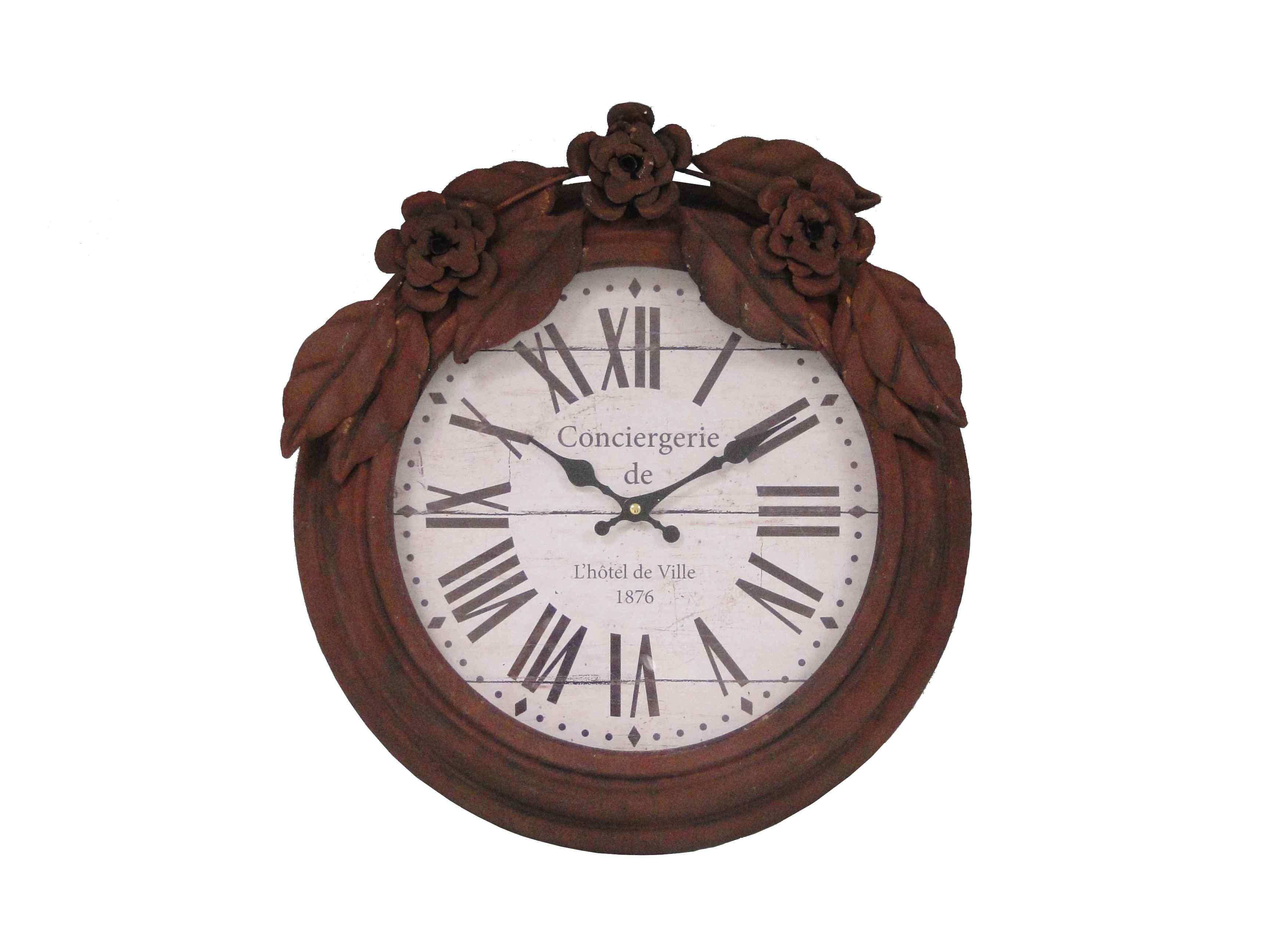 Настенные часы CuisineНастенные часы<br>Батарейки типа AА.<br><br>Material: Железо<br>Length см: None<br>Width см: None<br>Depth см: 5,5<br>Height см: None<br>Diameter см: 44