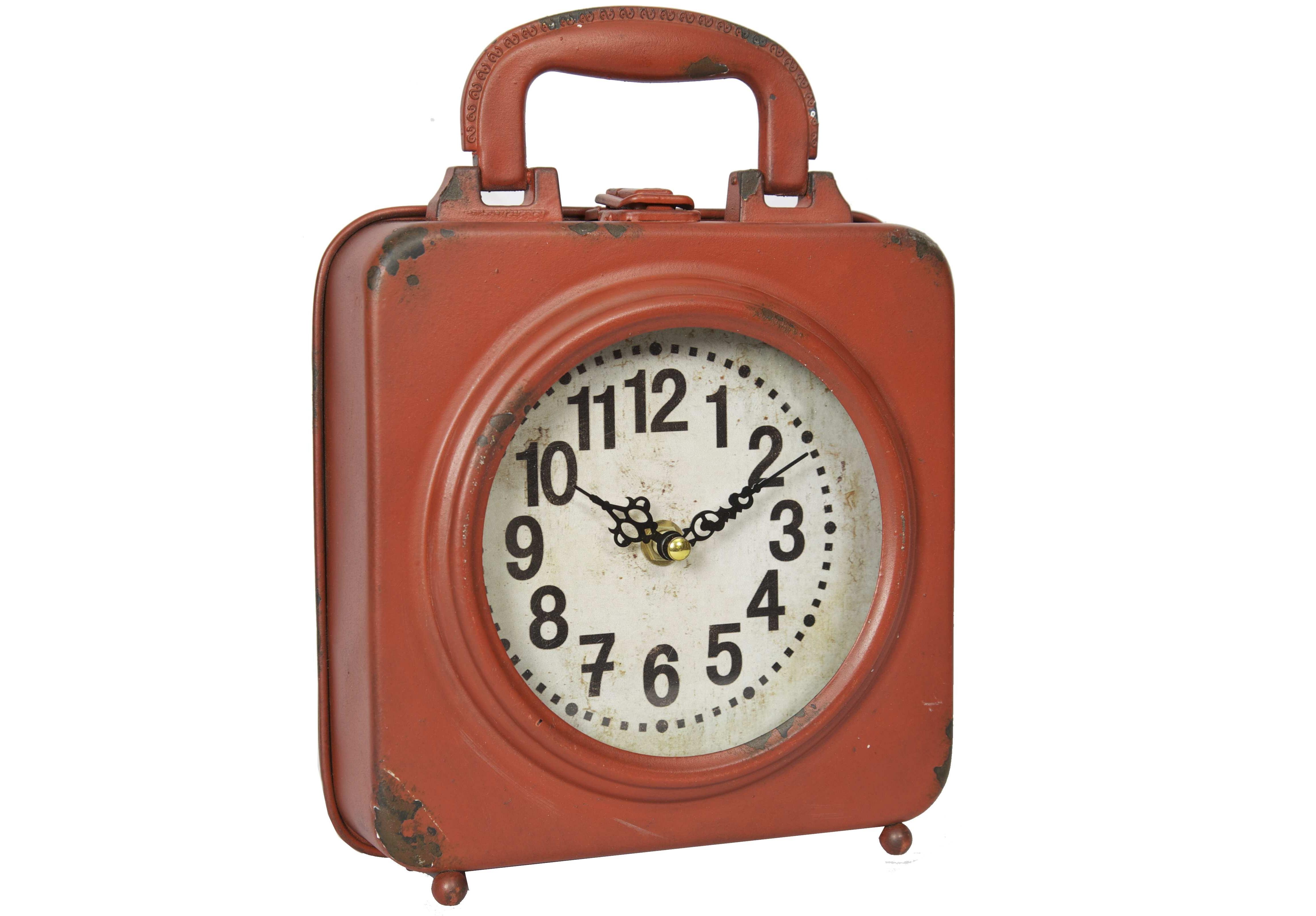 Настольные часыНастольные часы<br>Батарейки типа AА.<br><br>Material: Железо<br>Length см: None<br>Width см: 19<br>Depth см: 5,5<br>Height см: 26