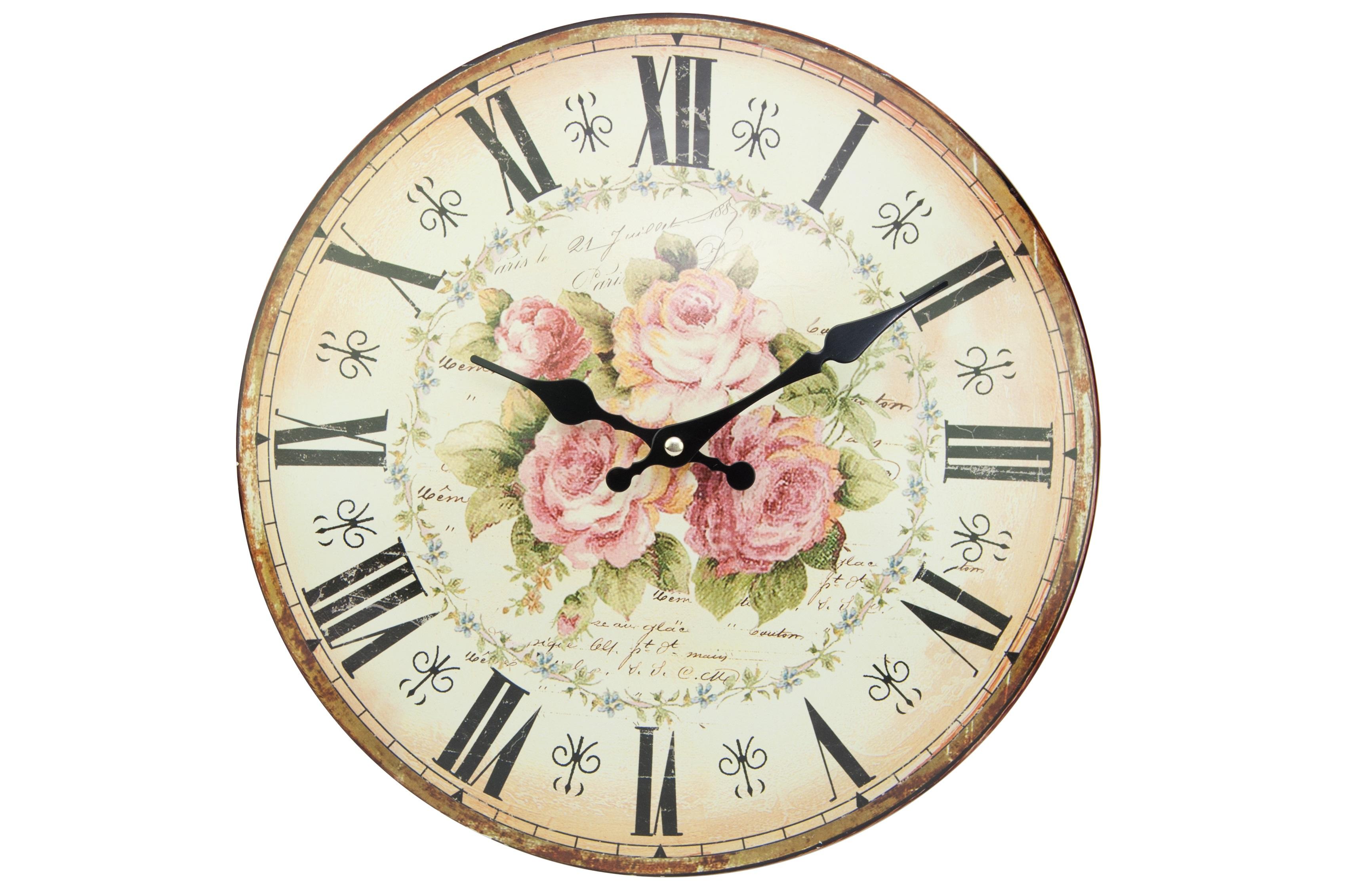 Настенные часыНастенные часы<br>Батарейки типа AА.<br><br>Material: Железо<br>Length см: None<br>Width см: None<br>Depth см: 3<br>Height см: None<br>Diameter см: 34