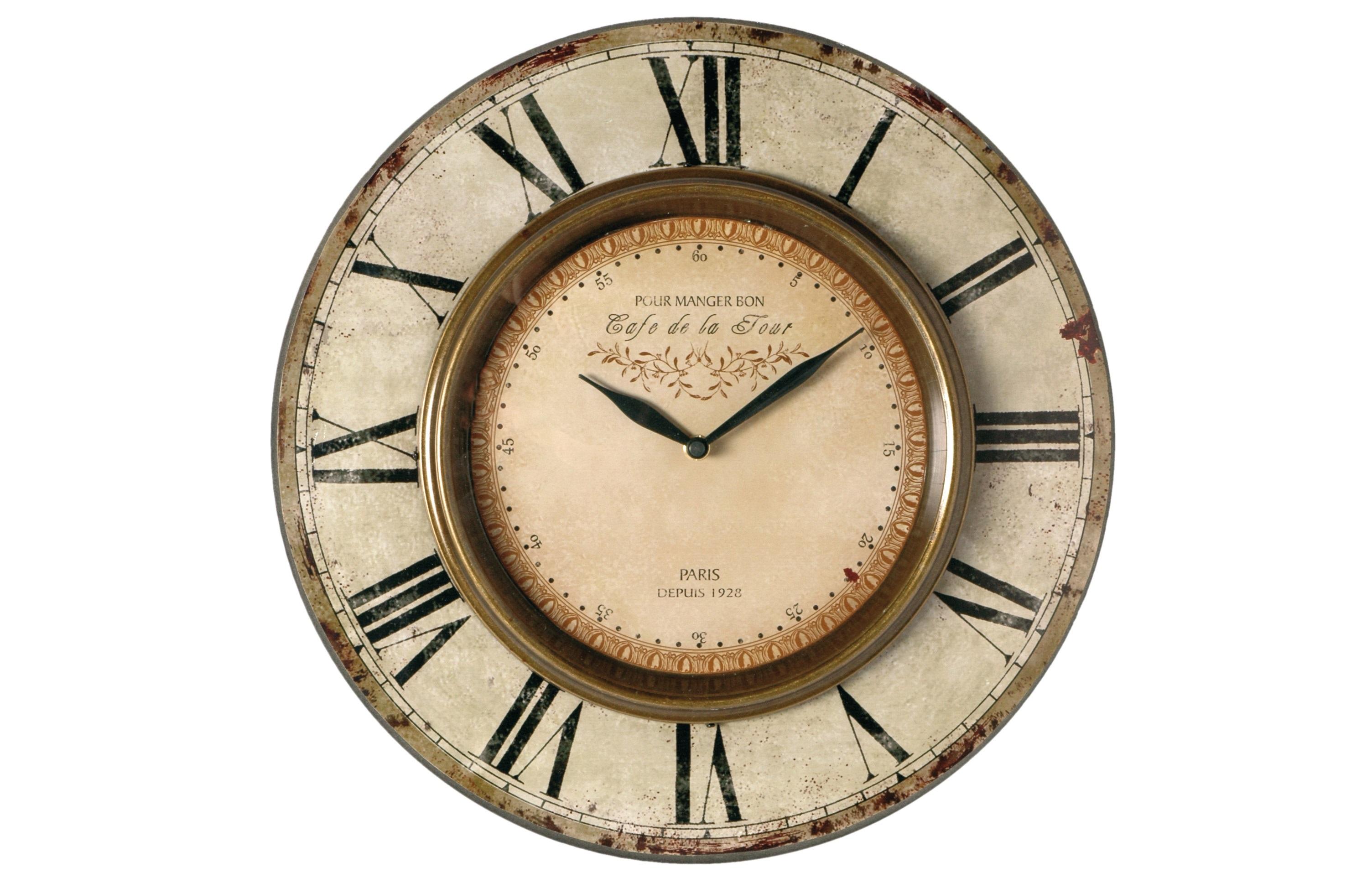 Настенные часыНастенные часы<br>Батарейки типа AА.<br><br>Material: Дерево<br>Length см: None<br>Width см: None<br>Depth см: 3<br>Height см: None<br>Diameter см: 38,5