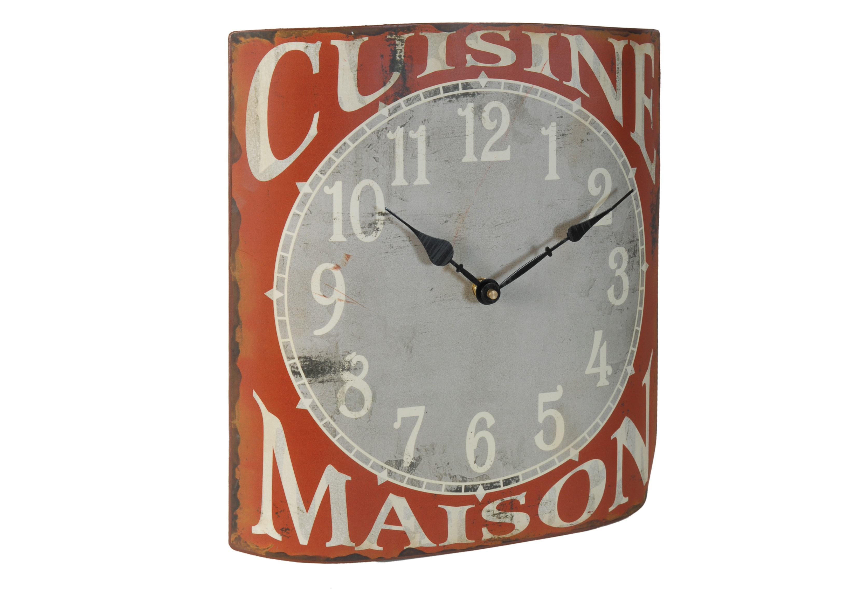 Настенные часы Cuisine MaisonНастенные часы<br>Батарейки типа AА.<br><br>Material: Железо<br>Length см: None<br>Width см: 32<br>Depth см: 6,6<br>Height см: 35