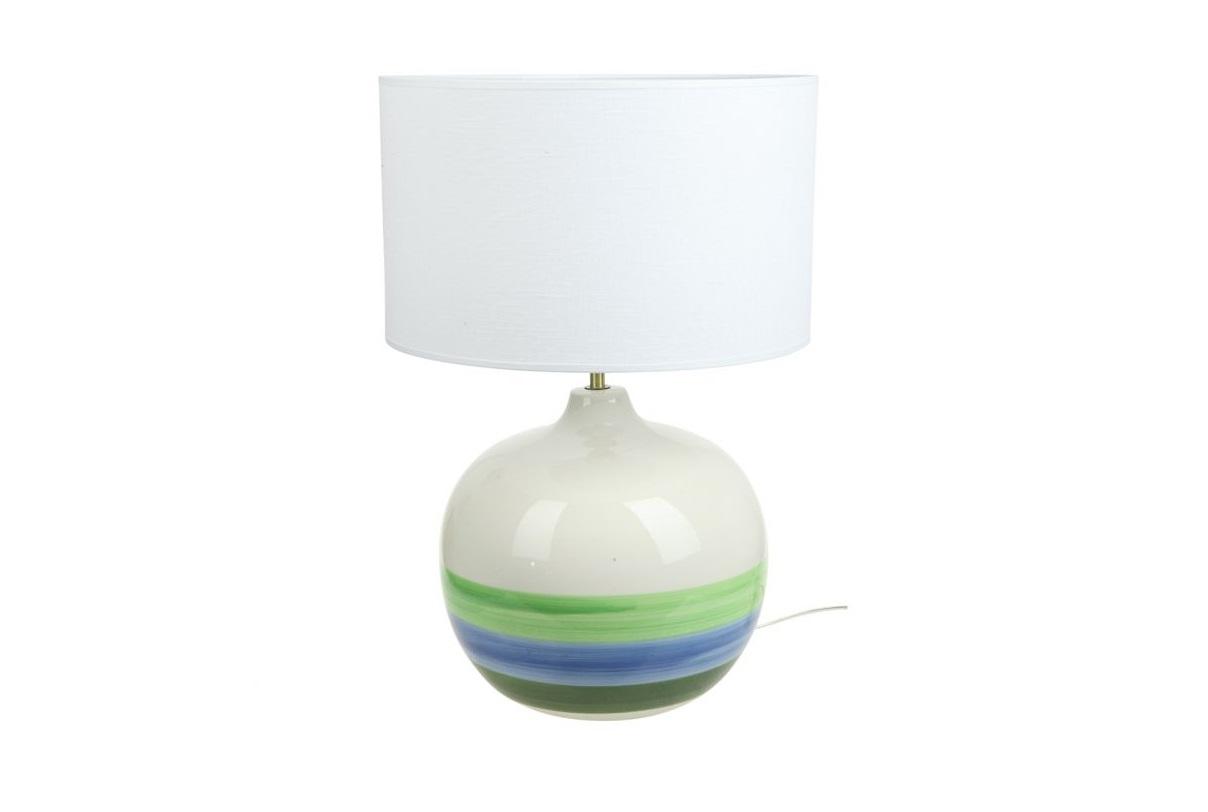 Настольная лампа Blanc Декоративные лампы<br>&amp;lt;div&amp;gt;Вид цоколя: E27&amp;lt;/div&amp;gt;&amp;lt;div&amp;gt;Мощность: 60&amp;amp;nbsp;&amp;lt;/div&amp;gt;&amp;lt;div&amp;gt;Количество ламп: 1&amp;lt;/div&amp;gt;&amp;lt;div&amp;gt;Материал: керамика/ткань&amp;lt;/div&amp;gt;&amp;lt;div&amp;gt;&amp;lt;br&amp;gt;&amp;lt;/div&amp;gt;<br><br>Material: Керамика<br>Height см: 52<br>Diameter см: 35