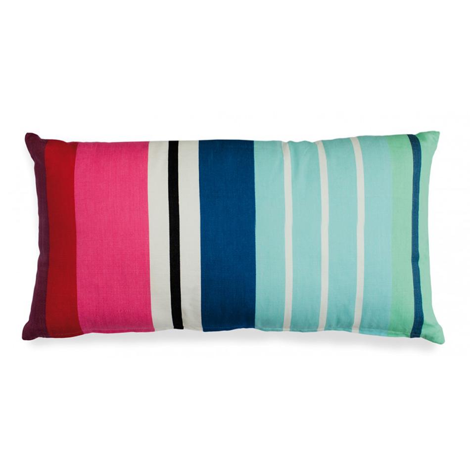 Подушка LidoПрямоугольные подушки и наволочки<br>Цветная подушка на молнии. Станет ярким украшением вашего дома и точно будет притягивать к себе взгляды окружающих. Геометрический принт выглядит стильно и  современно: подойдет тем, кто хочет добавить в интерьер несколько ярких акцентов.&amp;amp;nbsp;&amp;lt;div&amp;gt;&amp;lt;br&amp;gt;&amp;lt;div&amp;gt;&amp;lt;div&amp;gt;Рекомендована машинная стирка при температуре 60°C.&amp;lt;/div&amp;gt;&amp;lt;/div&amp;gt;&amp;lt;/div&amp;gt;<br><br>Material: Хлопок<br>Ширина см: 60<br>Высота см: 30<br>Глубина см: 5