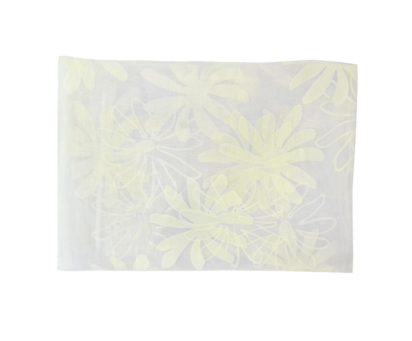 Комплект тюль для кухни Белое цветениеШторы<br>Тюль легкая на окно на тесьме для крючков<br><br>Material: Тюль<br>Width см: 150<br>Height см: 200