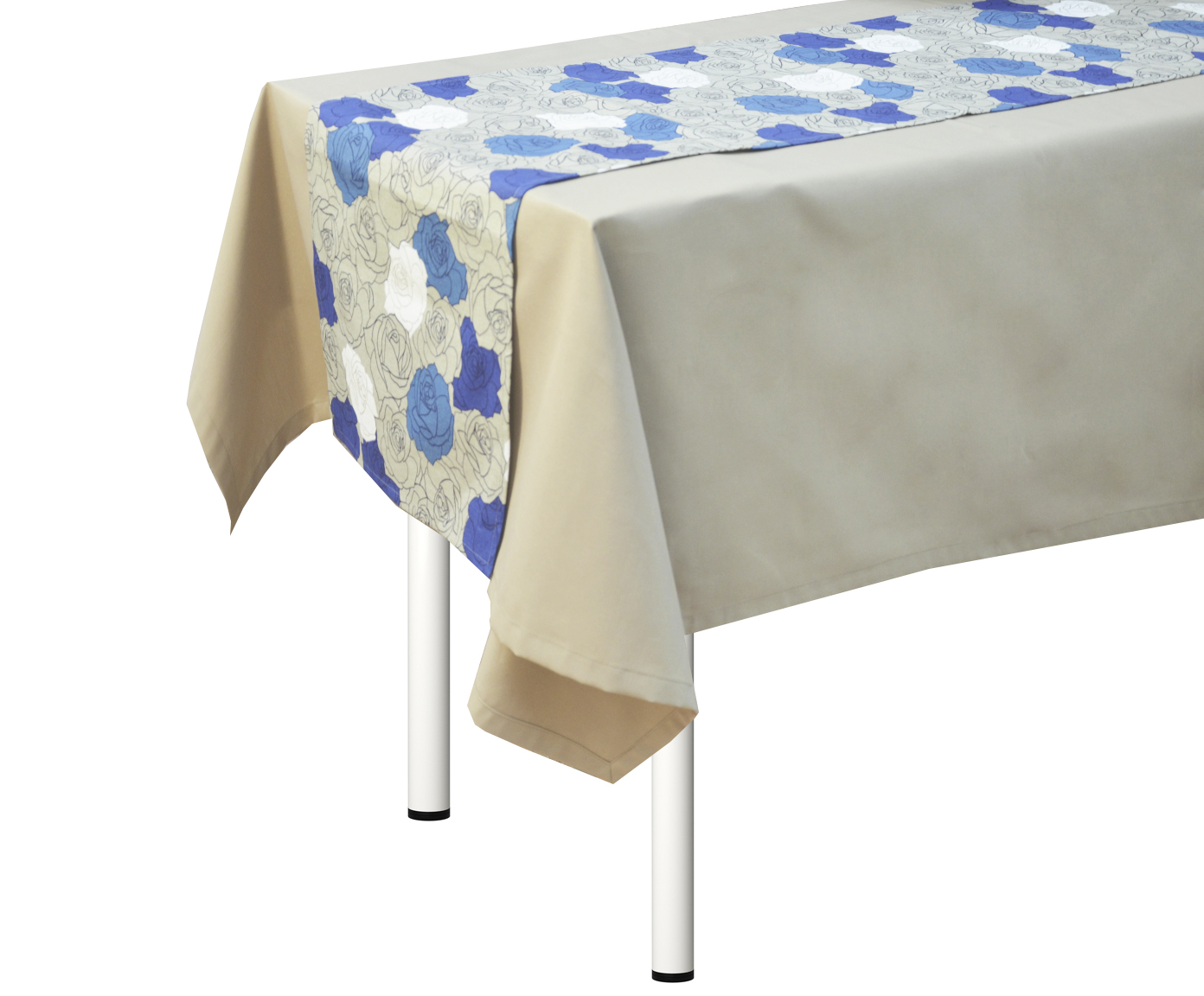 """Дорожка на стол """"Rosal Blu"""""""