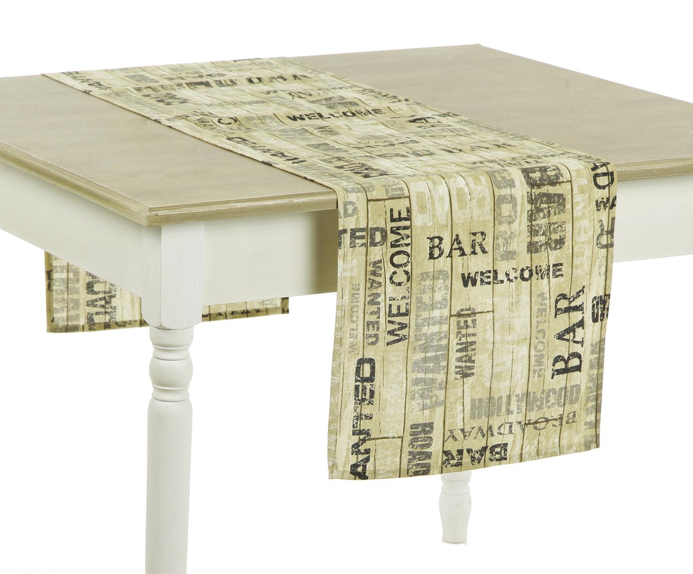 Дорожка DroadwayСкатерти<br>Скатерть узкая на стол. Подойдет для романтического стиля и настроения. Яркий дизайн. Ткань прочная ,износоустойчивая.<br><br>Material: Хлопок<br>Length см: 170<br>Width см: 40