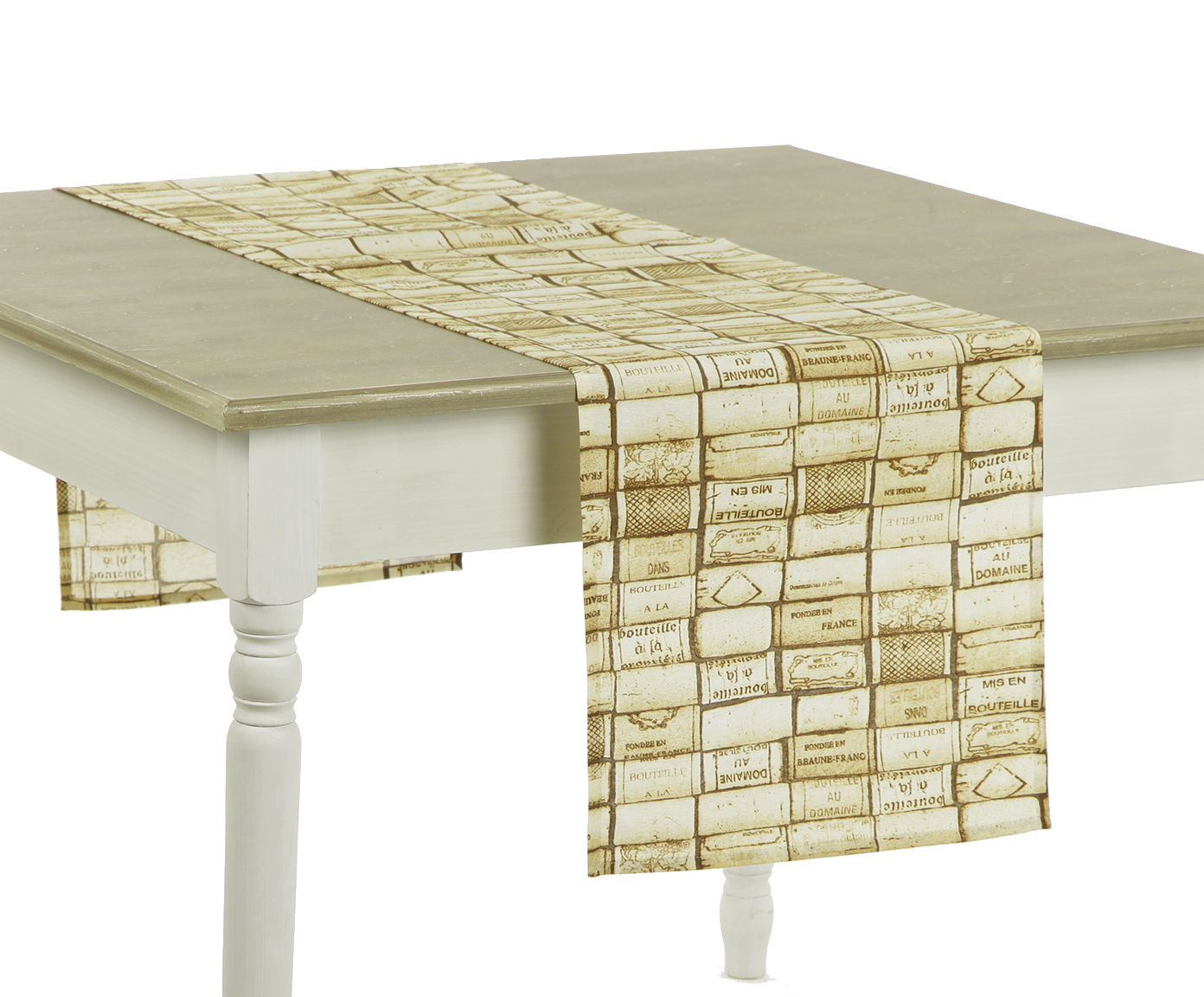 Дорожка DomaneСкатерти<br>Скатерть узкая на стол. Подойдет для романтического стиля и настроения. Яркий дизайн. Ткань прочная ,износоустойчивая.<br><br>Material: Хлопок<br>Length см: 180<br>Width см: 40