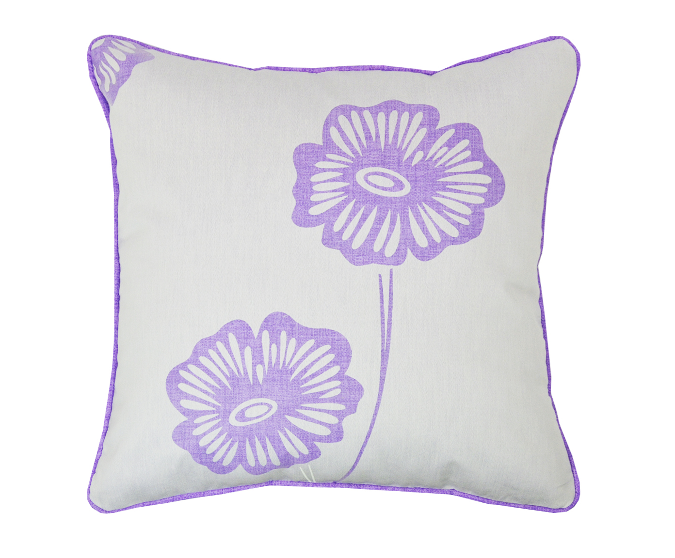 Подушка Прозрачный цветокКвадратные подушки и наволочки<br>Декоративная  подушка .Чехол съемный.<br><br>Material: Хлопок<br>Ширина см: 45<br>Высота см: 45<br>Глубина см: 15