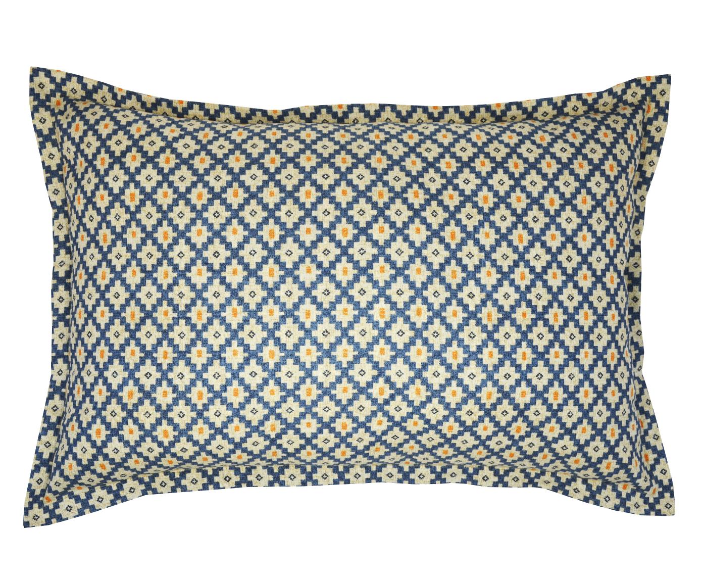Наволочка Calella bluПрямоугольные подушки и наволочки<br><br><br>Material: Хлопок<br>Ширина см: 70<br>Высота см: 50