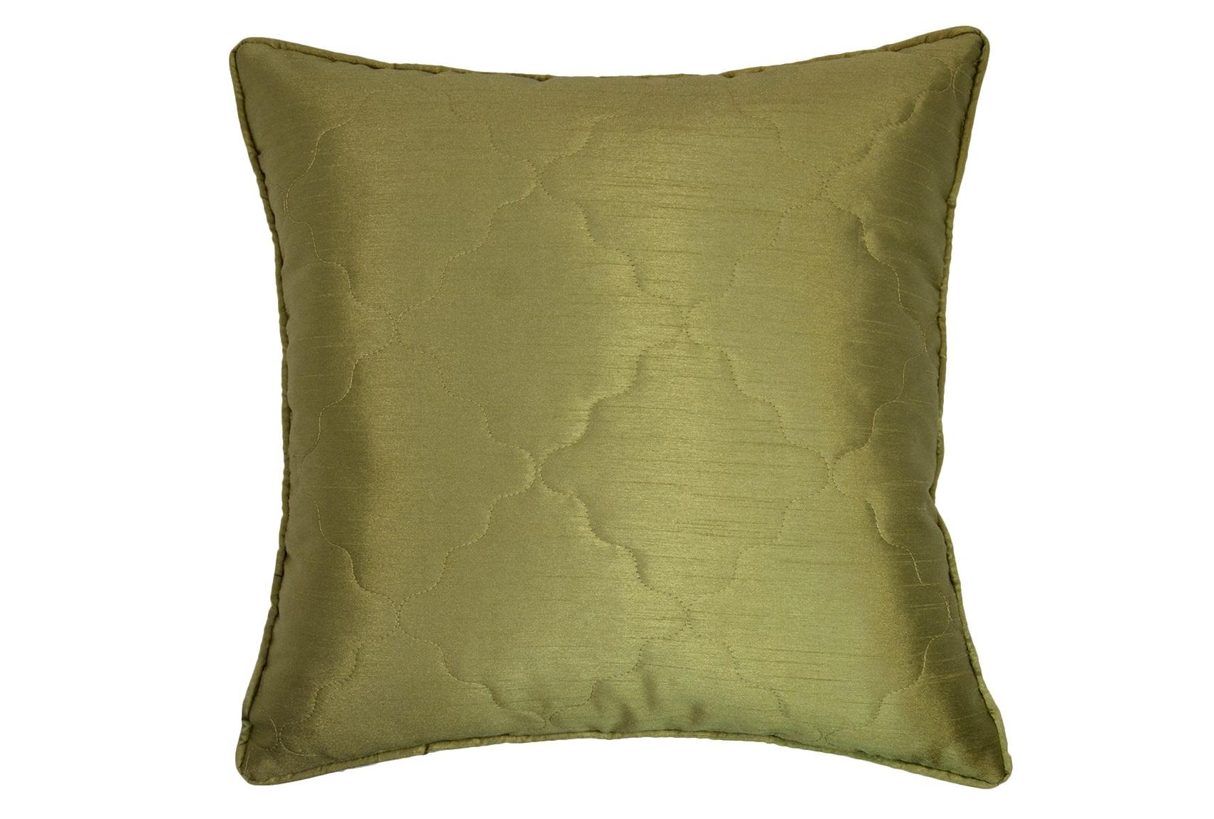 Подушка Green SilkКвадратные подушки<br>Декоративная  подушка .Чехол съемный.<br><br>Material: Вискоза<br>Length см: None<br>Width см: 45<br>Depth см: 15<br>Height см: 45