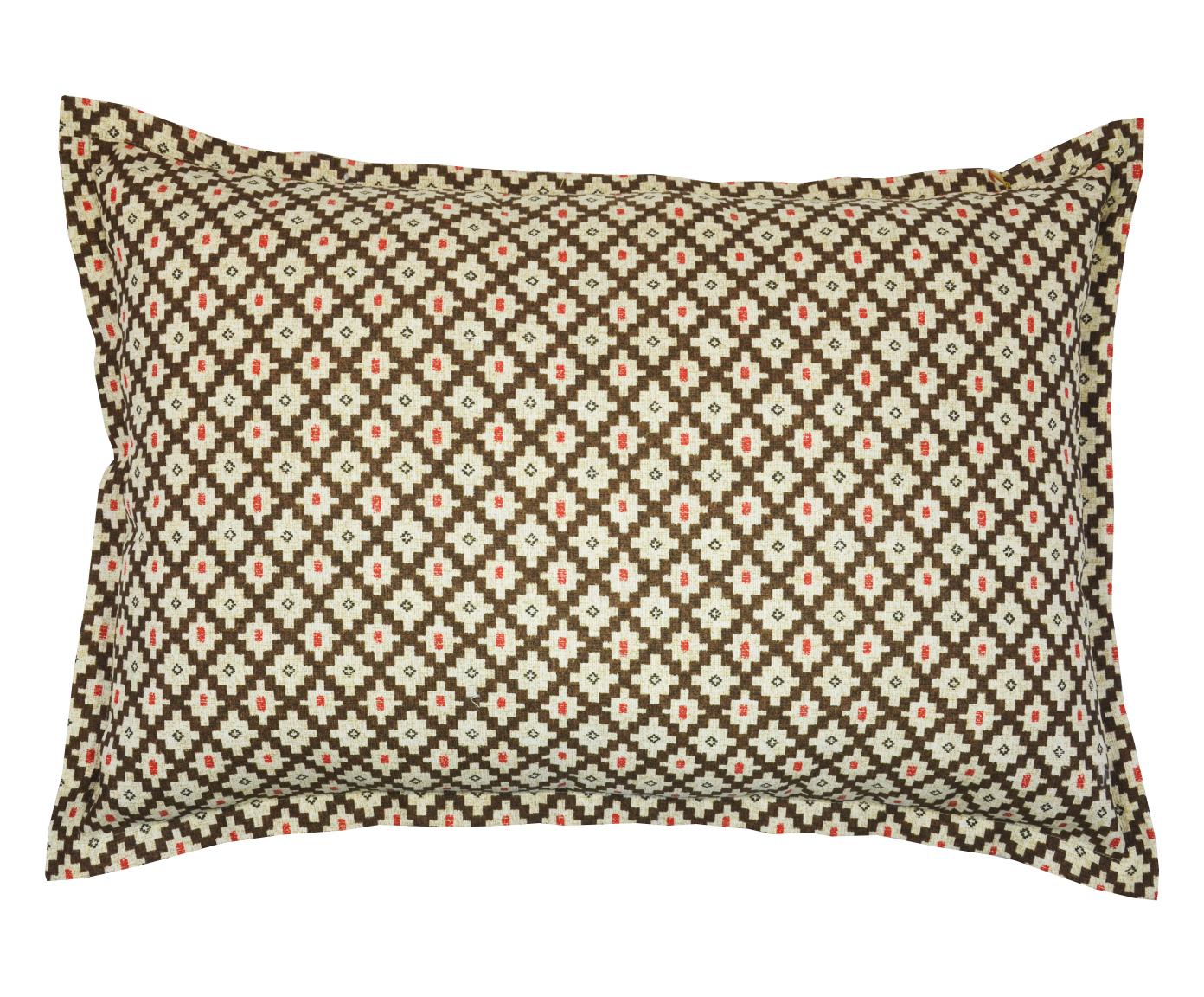 Наволочка Calella brownПрямоугольные подушки и наволочки<br>Наволочка декоративная для подушки размером 50х70 см.<br><br>Material: Хлопок<br>Width см: 65<br>Height см: 45