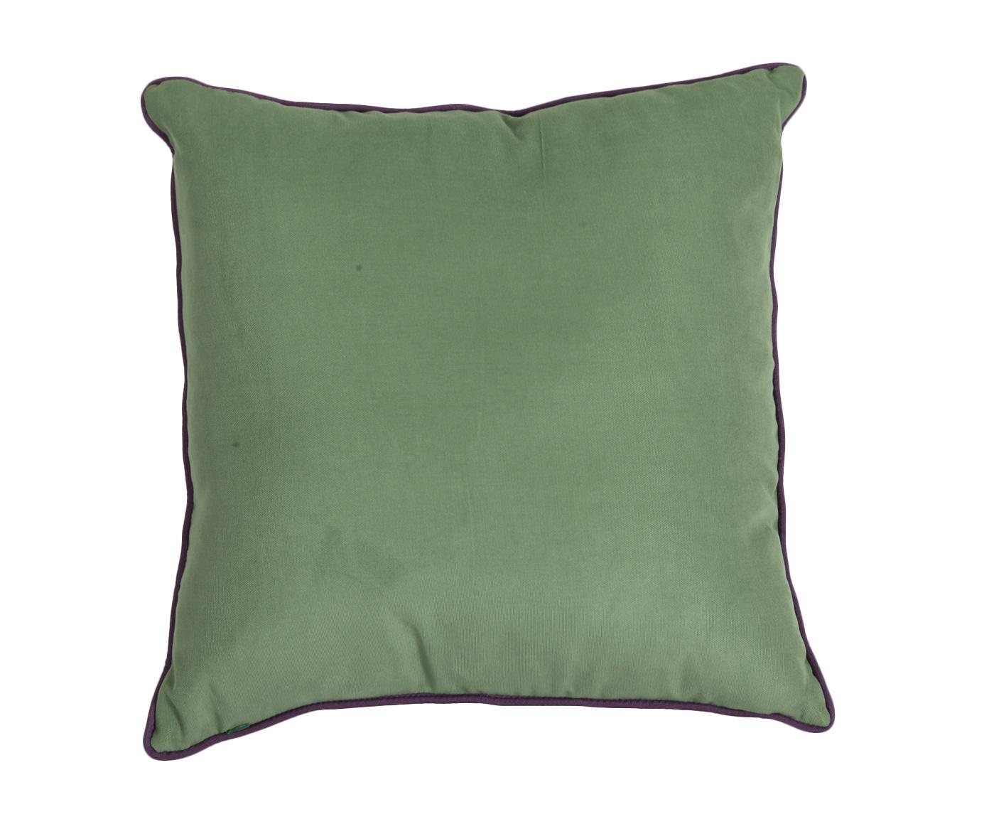 Подушка Фиолетовый кантКвадратные подушки<br>Декоративная  подушка .Чехол съемный.<br><br>Material: Хлопок<br>Width см: 45<br>Depth см: 15<br>Height см: 45