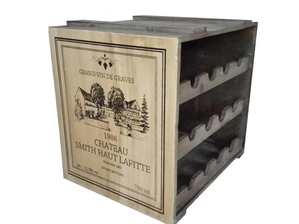 Сет ящиков для хранения вина (2шт)