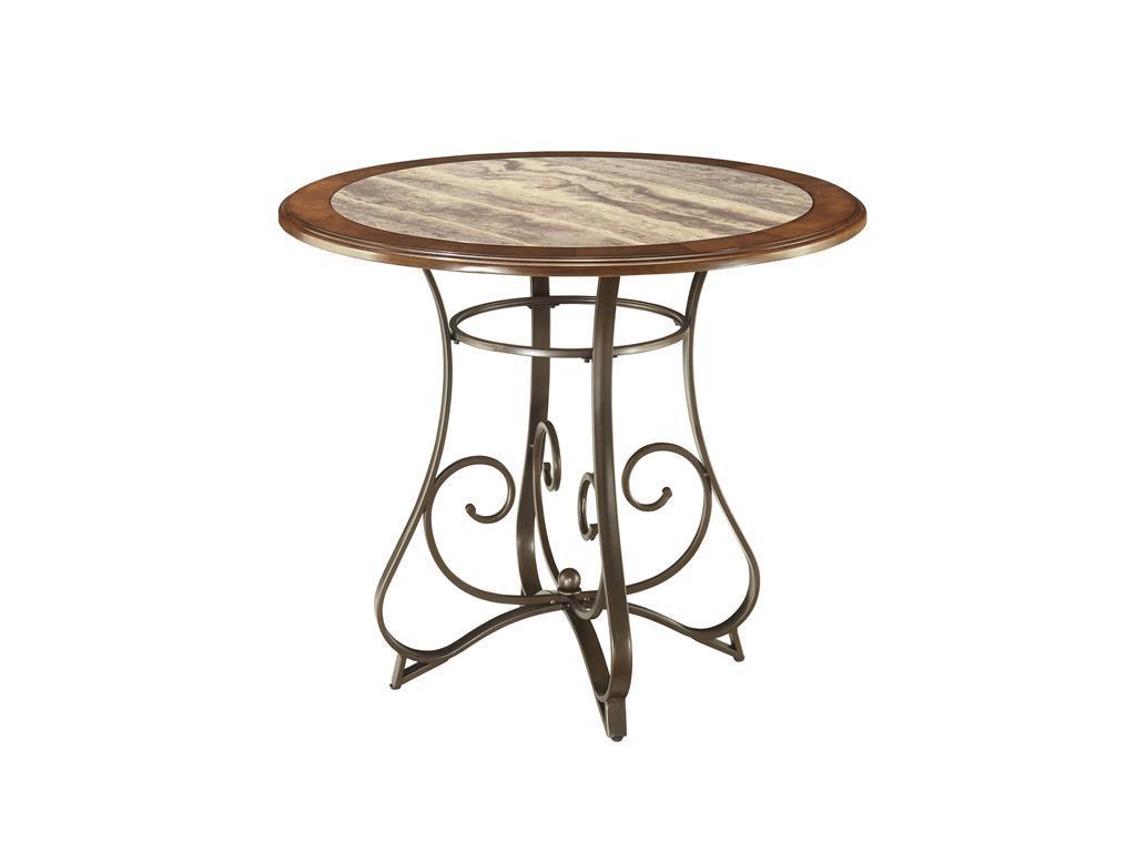 Стол обеденныйОбеденные столы<br><br><br>Material: Дерево<br>Height см: 78<br>Diameter см: 111