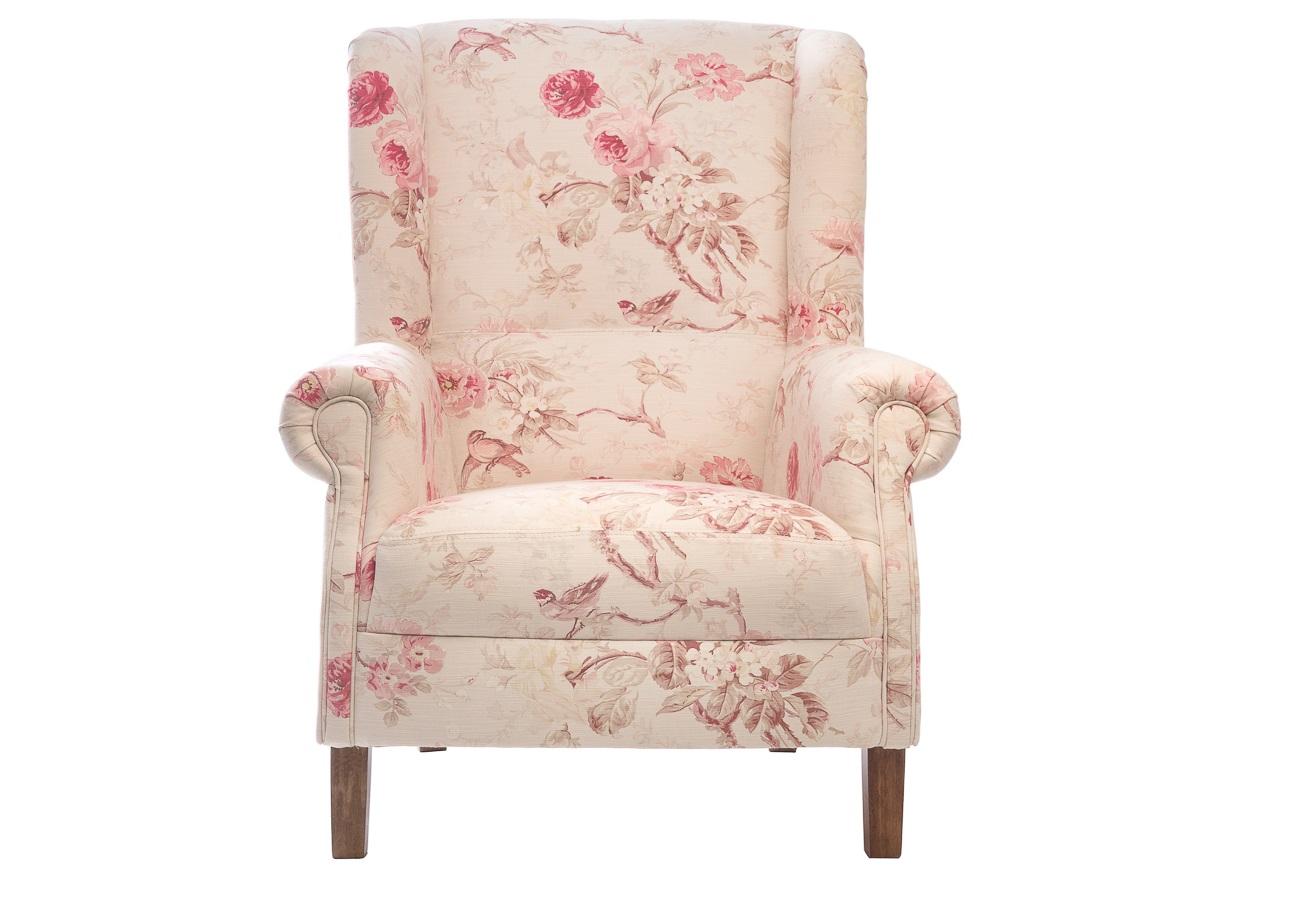 Кресло ShannonКресла с высокой спинкой<br>А в вашем доме есть уютное местечко, в котором вы можете добиться абсолютной релаксации? Это удобное вольтеровское кресло будет выигрышно смотреться как в нежно оформленной детской, так и в любой другой комнате. Это кресло просто идеально для отдыха у камина: оно хорошо сохраняет тепло, плюс защищает от искр. Кресло не только уютное и удобное ,но и еще совершенно романтичное.<br><br>Каркас: хвойные породы дерева.<br>Обивка: 75%хлопок, 25%лен<br>Наполнитель: высокоэластичный ППУ.<br>Ножки: хвойные породы.<br><br>Material: Текстиль<br>Ширина см: 82<br>Высота см: 93