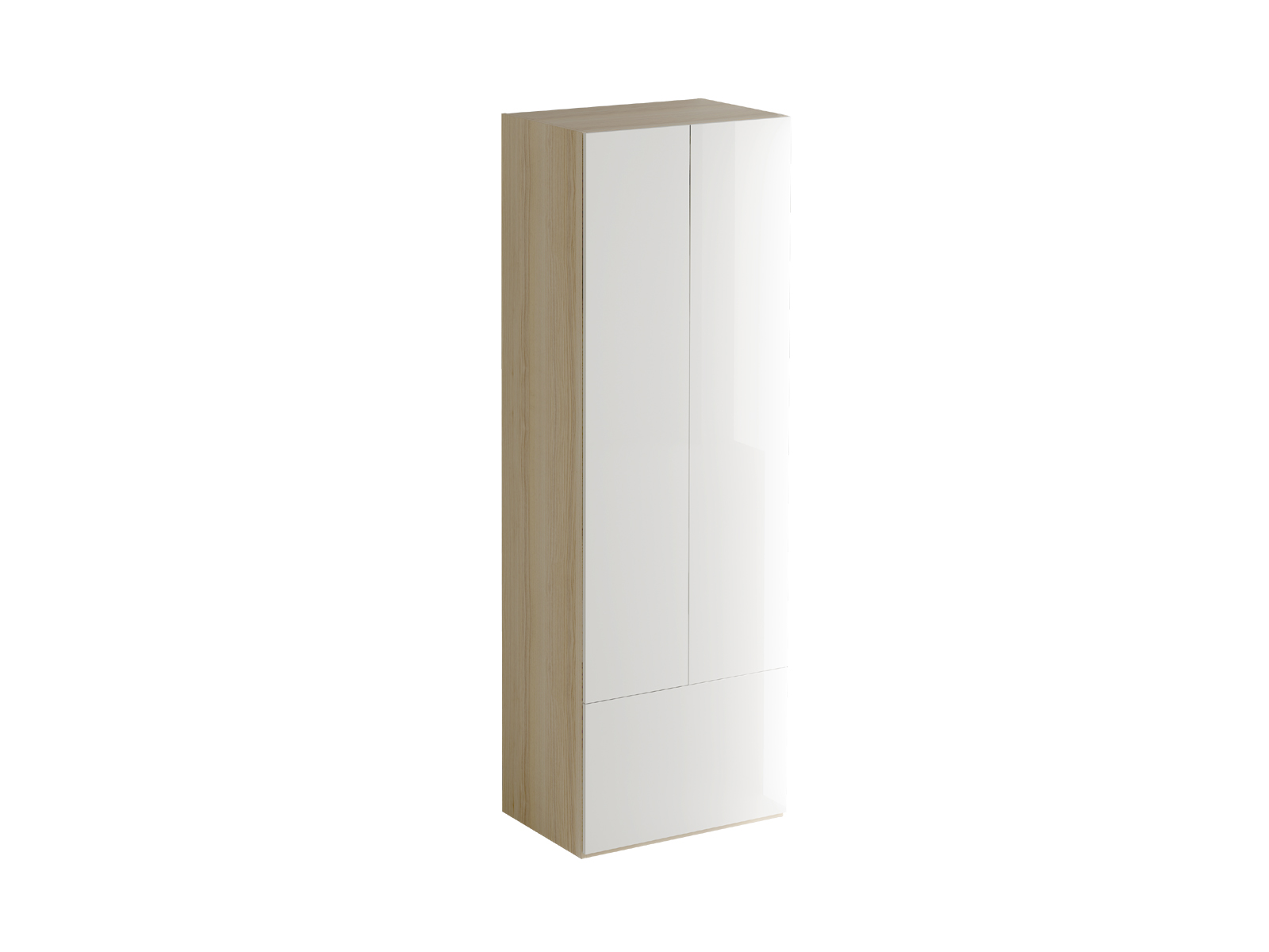 Шкаф PassageПлатяные шкафы<br>Шкаф двухдверный. В верхней части за распашными дверцами расположено отделение со штангой для хранения одежды и крючками. В нижнем отделении за откидной дверцей расположена полка.<br><br>Material: ДСП<br>Ширина см: 70<br>Высота см: 210<br>Глубина см: 48