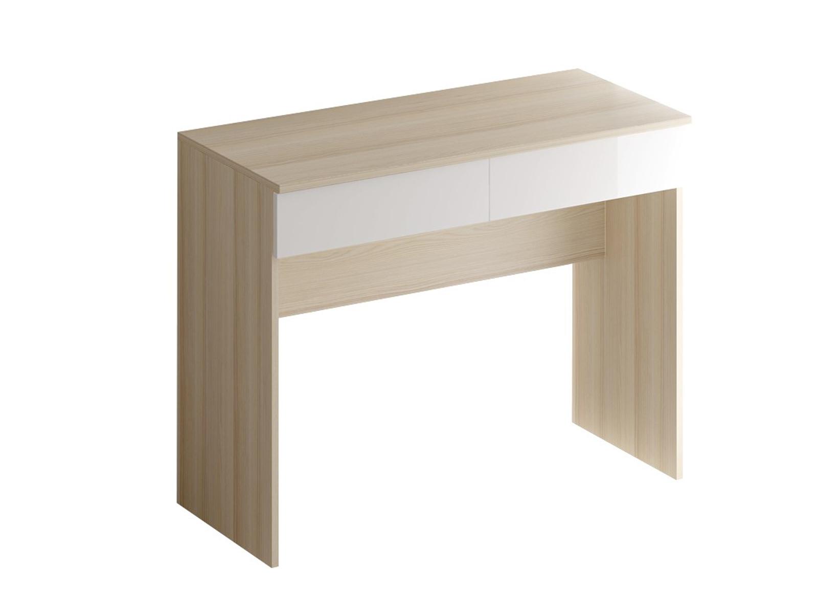 Туалетный столик UnoТуалетные столики<br>За этим туалетным столиком наводить красоту будет не только удобно, но и приятно. Он отлично впишется в интерьер в стиле лофт, а выдвижные ящика позволят всегда иметь самое необходимое под рукой.<br><br>Material: ДСП<br>Ширина см: 100<br>Высота см: 45<br>Глубина см: 78