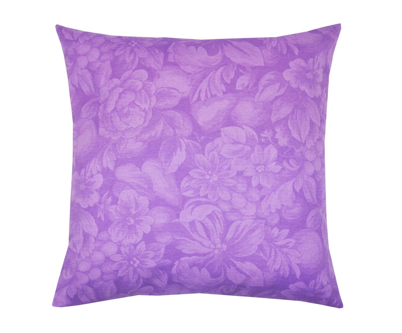 Подушка Lorret VioletКвадратные подушки и наволочки<br>Декоративная  подушка .Чехол съемный.<br><br>Material: Хлопок<br>Length см: None<br>Width см: 45<br>Depth см: 15<br>Height см: 45
