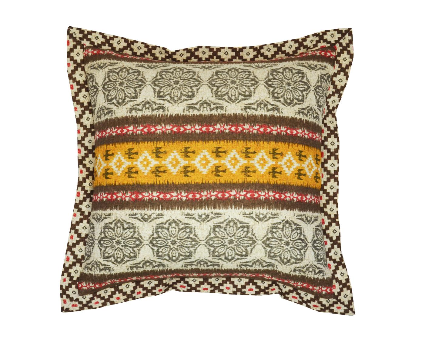 Подушка GranadaКвадратные подушки<br>Декоративная  подушка .Чехол съемный.<br><br>Material: Хлопок<br>Length см: None<br>Width см: 40<br>Depth см: 15<br>Height см: 40